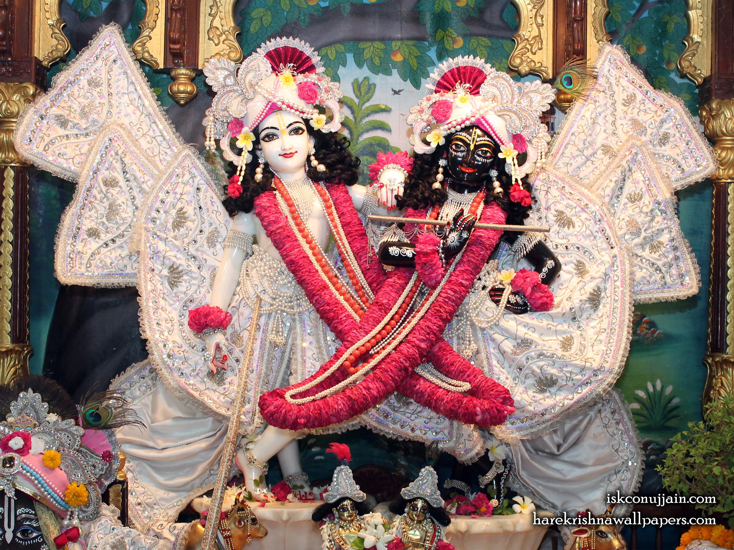 Sri Sri Krishna Balaram Wallpaper (007) Size 2400x1800 Download