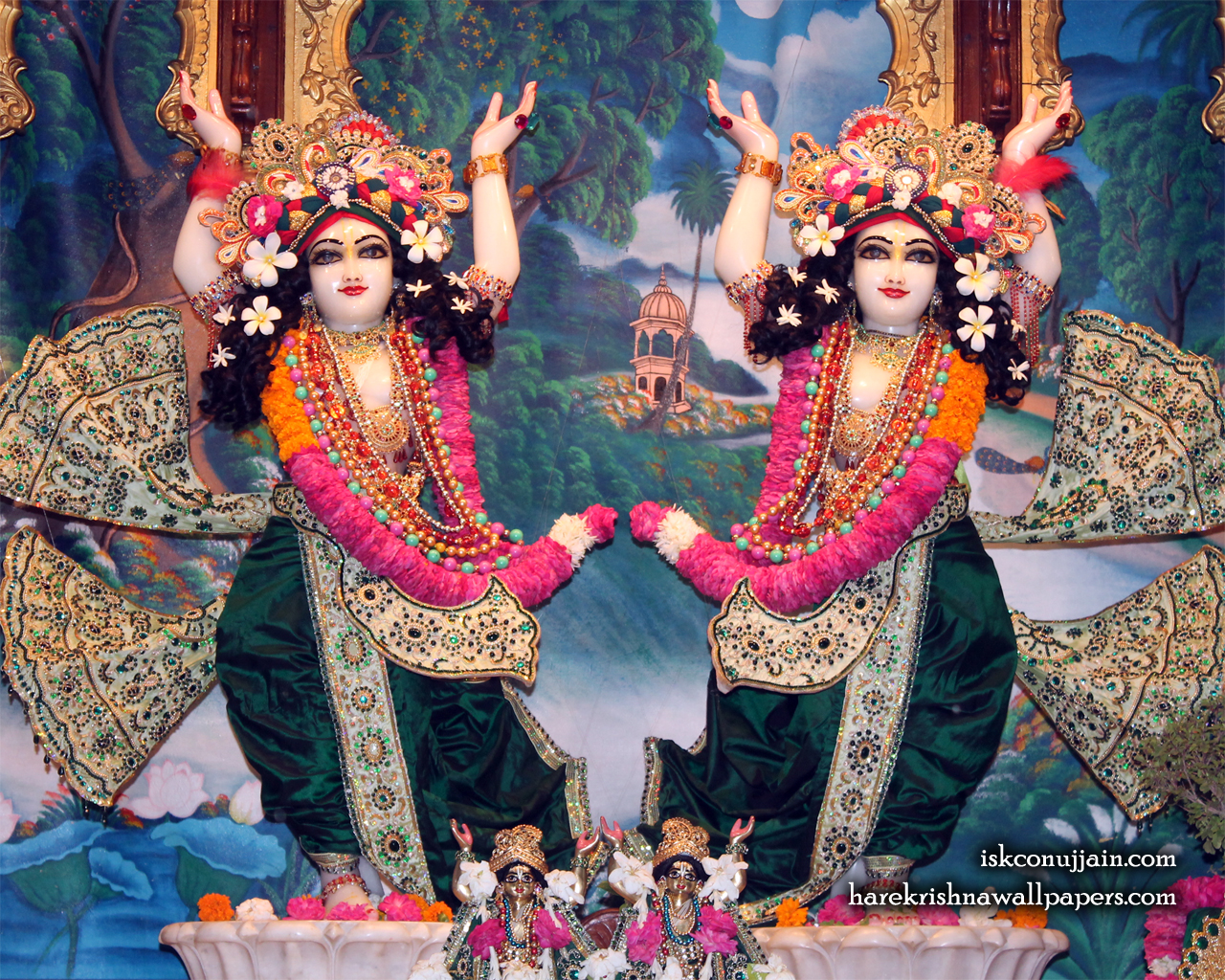 Sri Sri Gaura Nitai Wallpaper (008) Size 1280x1024 Download