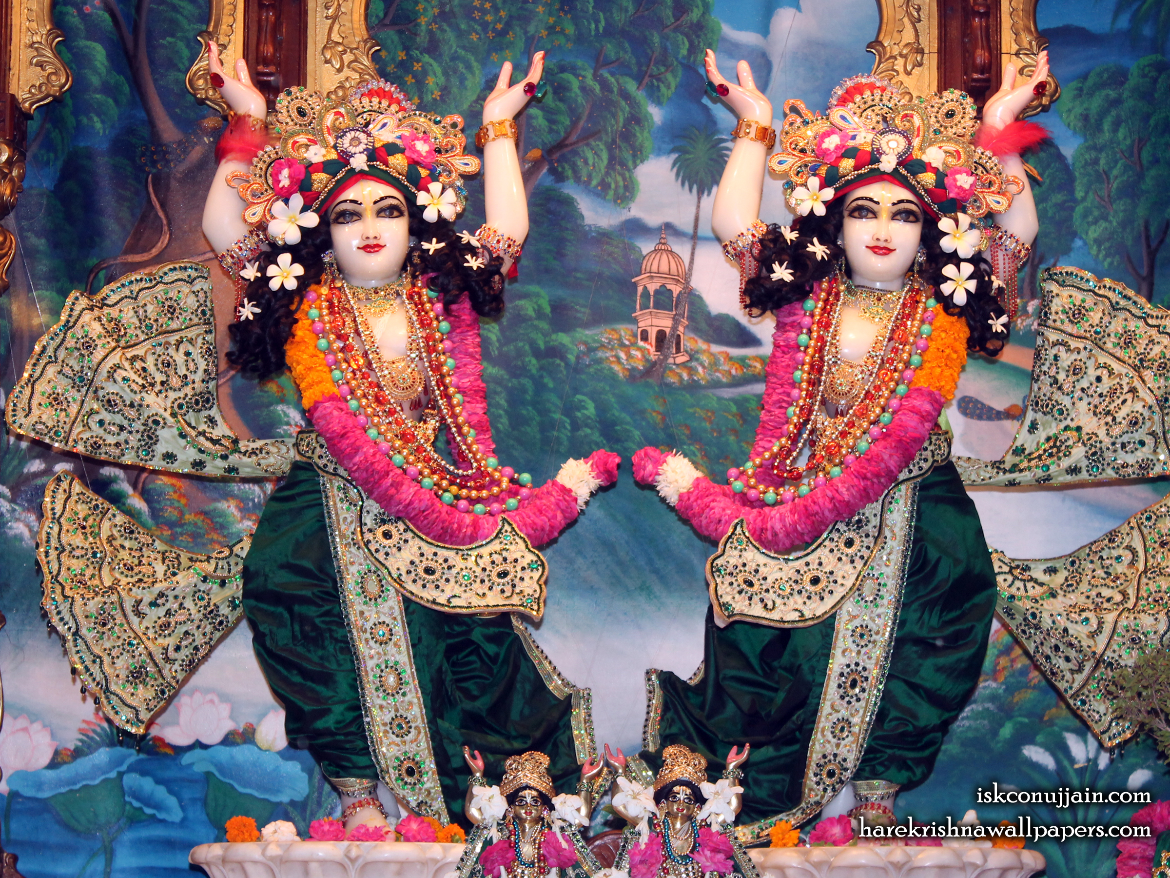 Sri Sri Gaura Nitai Wallpaper (008) Size 2400x1800 Download