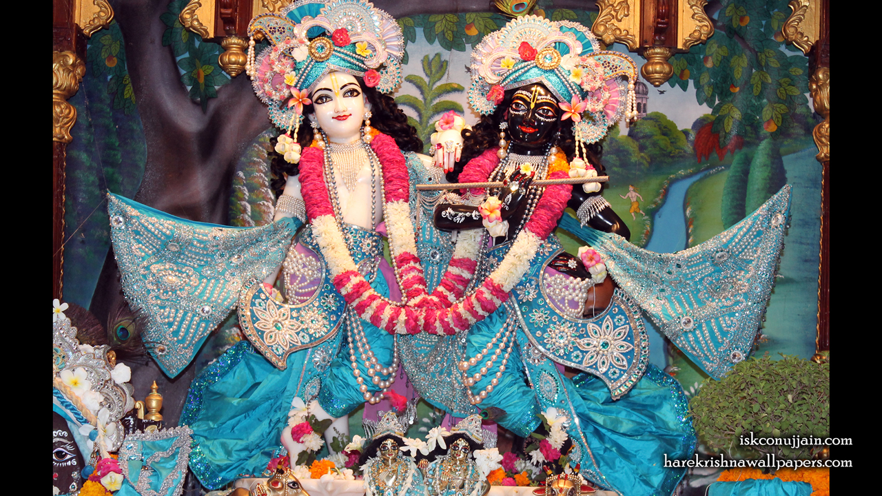 Sri Sri Krishna Balaram Wallpaper (008) Size 1280x720 Download