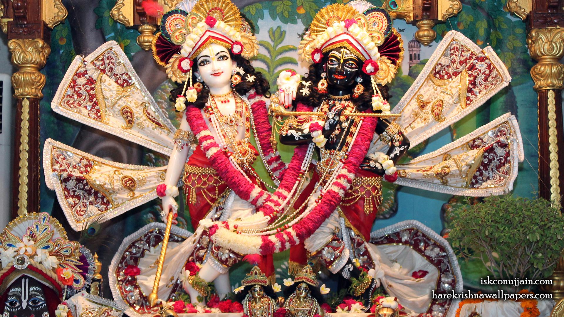 Sri Sri Krishna Balaram Wallpaper (009) Size 1920x1080 Download