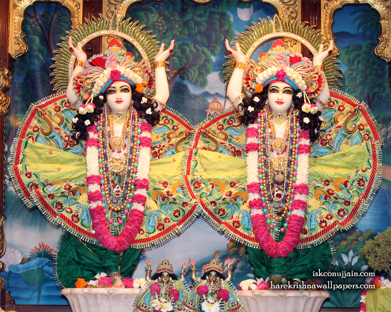 Sri Sri Gaura Nitai Wallpaper (011) Size 1280x1024 Download