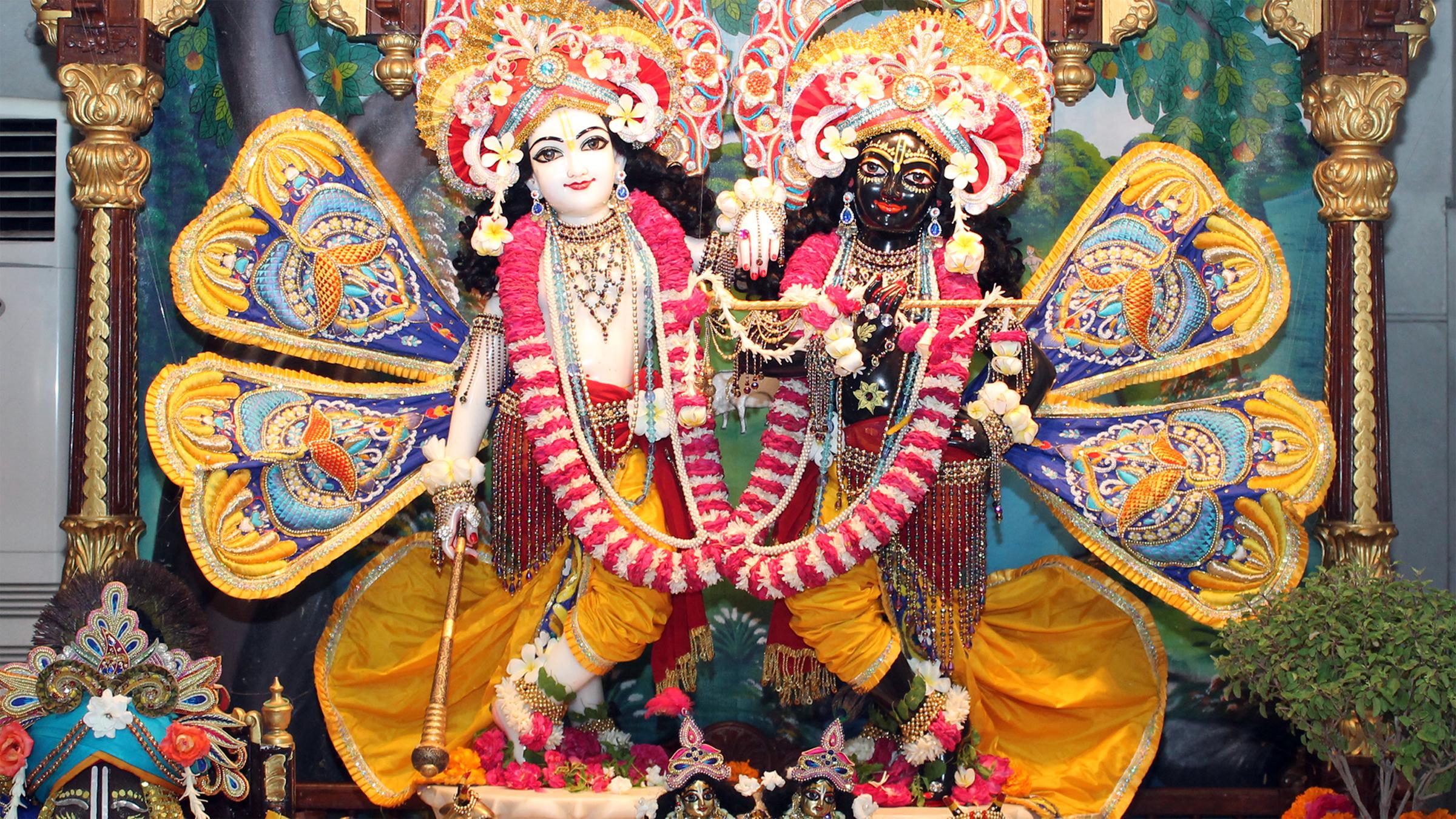 Sri Sri Krishna Balaram Wallpaper (011) Size 2400x1350 Download