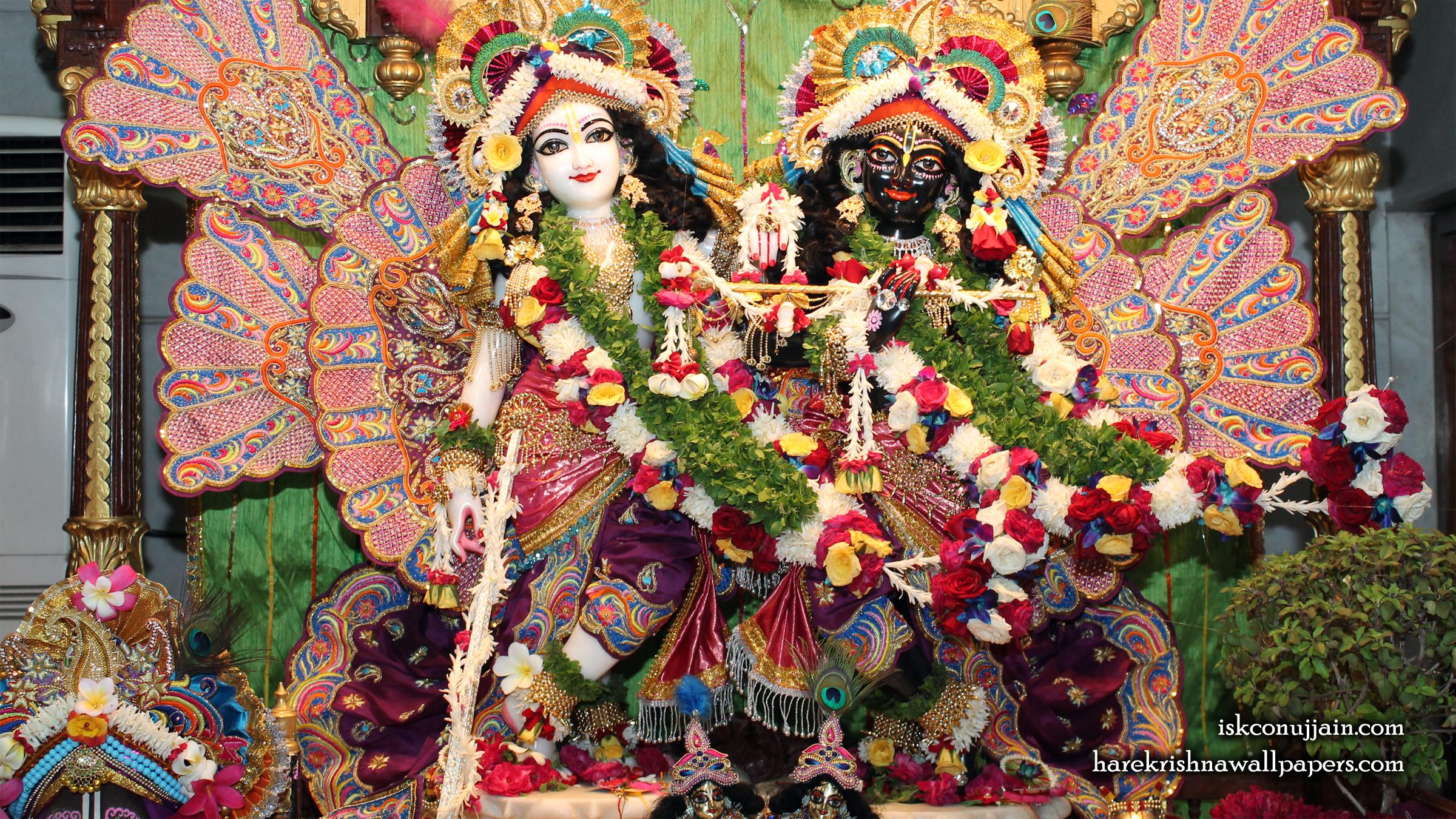 Sri Sri Krishna Balaram Wallpaper (012) Size 2400x1350 Download