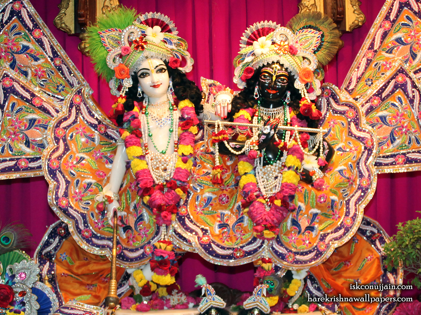 Sri Sri Krishna Balaram Wallpaper (013) Size 1400x1050 Download