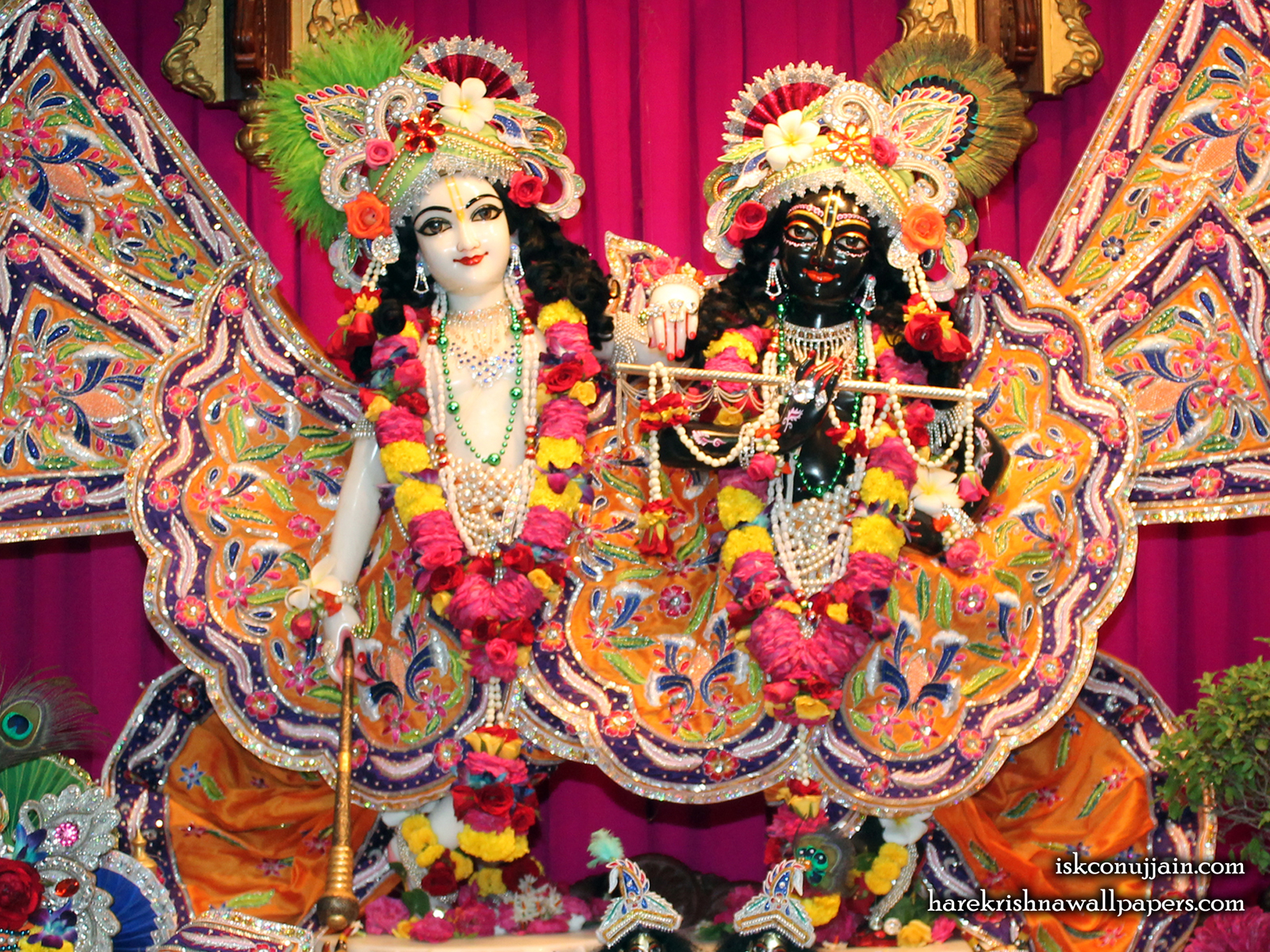 Sri Sri Krishna Balaram Wallpaper (013) Size1600x1200 Download