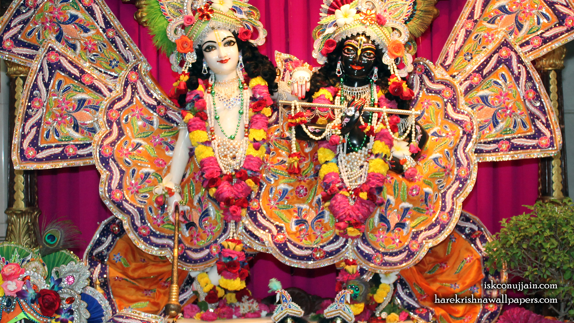 Sri Sri Krishna Balaram Wallpaper (013) Size 1920x1080 Download