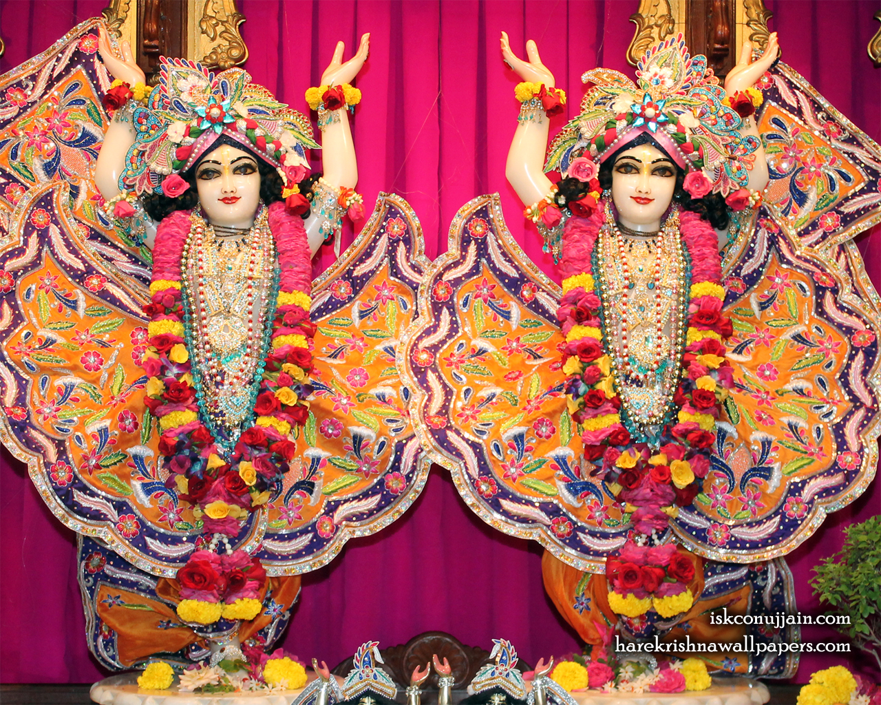 Sri Sri Gaura Nitai Wallpaper (014) Size 1280x1024 Download