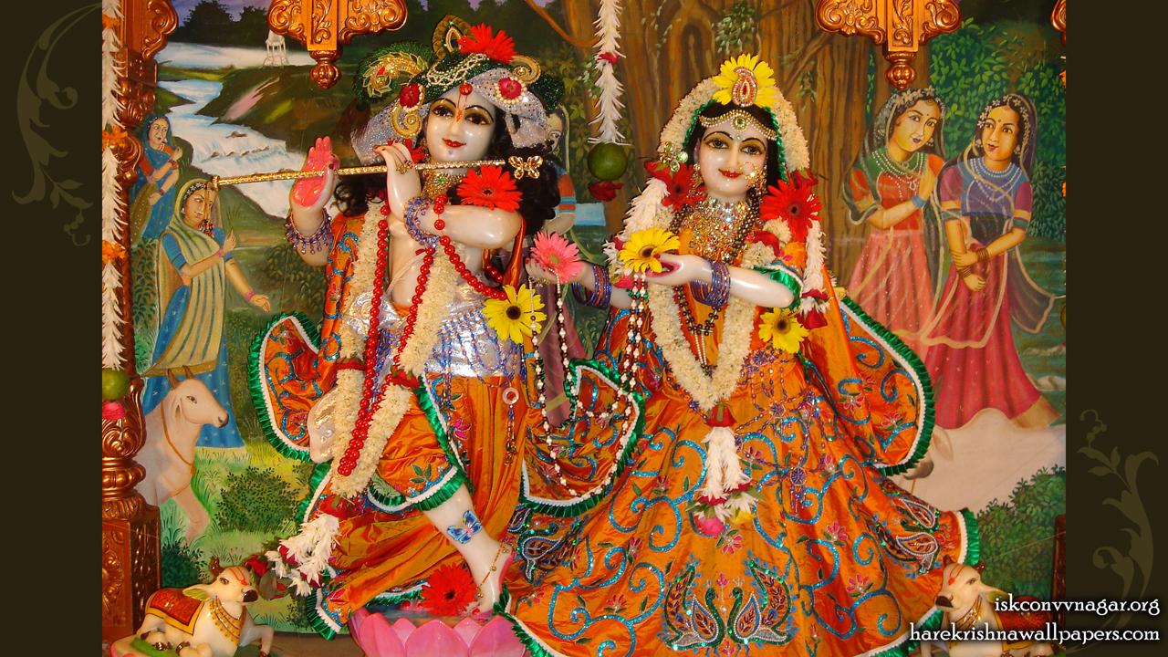 Sri Sri Radha Giridhari Wallpaper (004) Size 1280x720 Download
