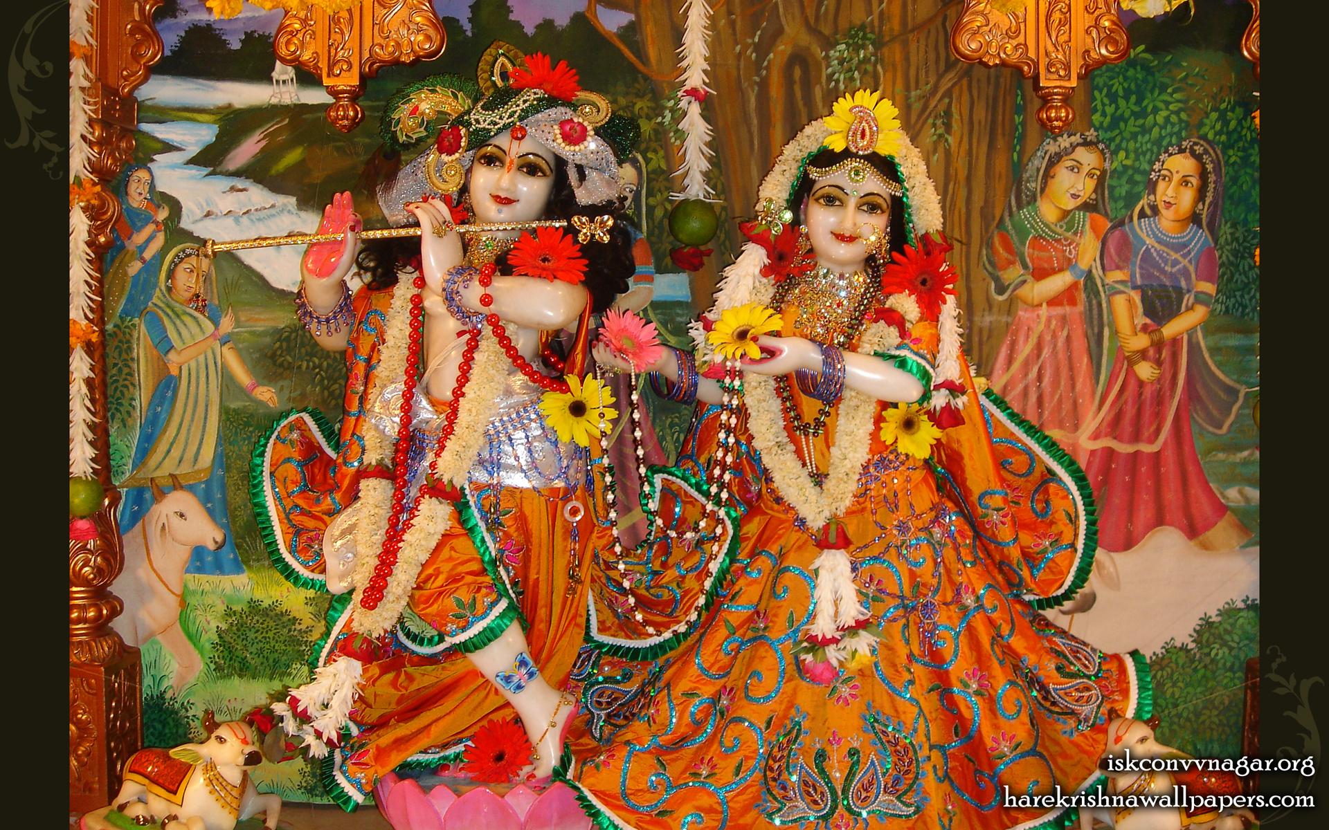 Sri Sri Radha Giridhari Wallpaper (004) Size 1920x1200 Download