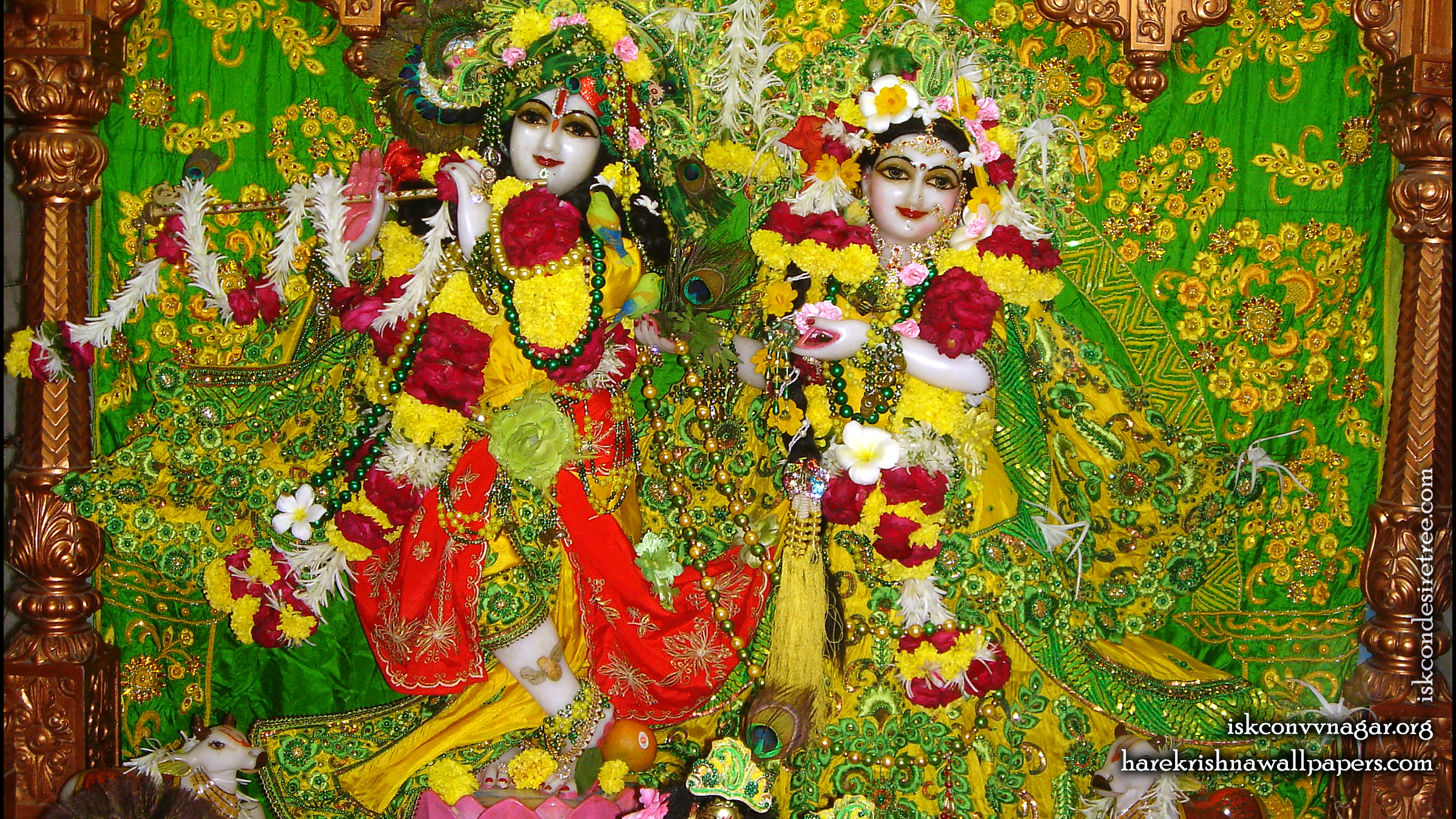 Sri Sri Radha Giridhari Wallpaper (011) Size 2400x1350 Download