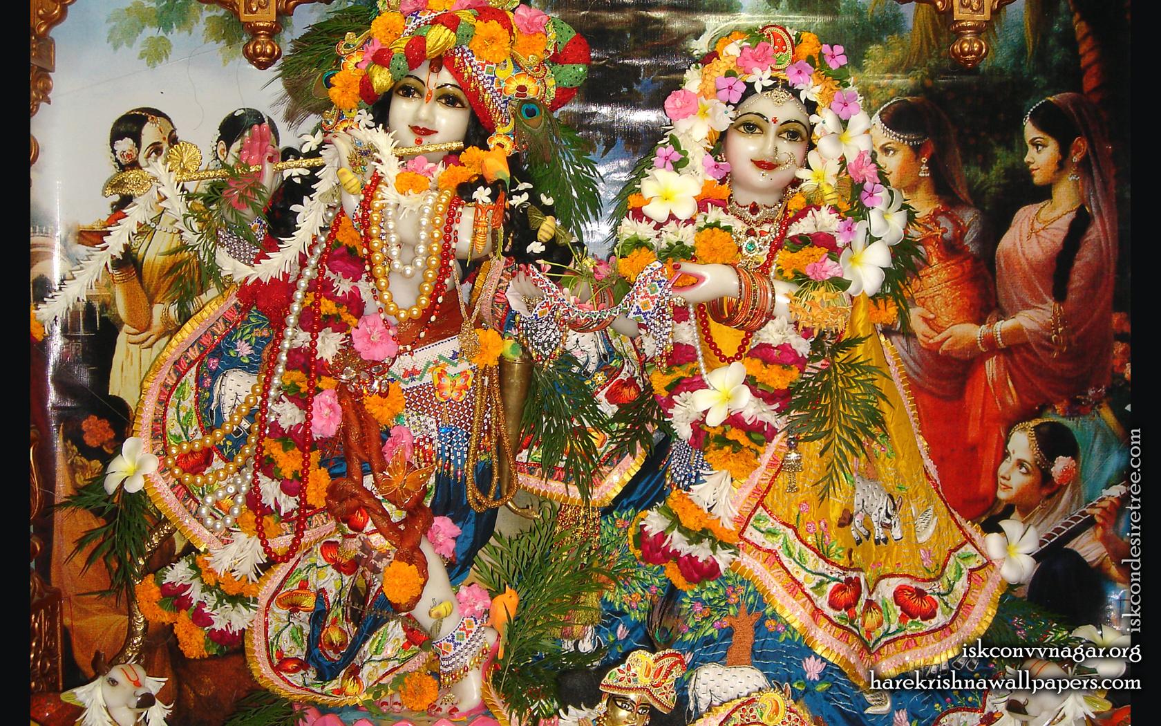 Sri Sri Radha Giridhari Wallpaper (017) Size 1680x1050 Download