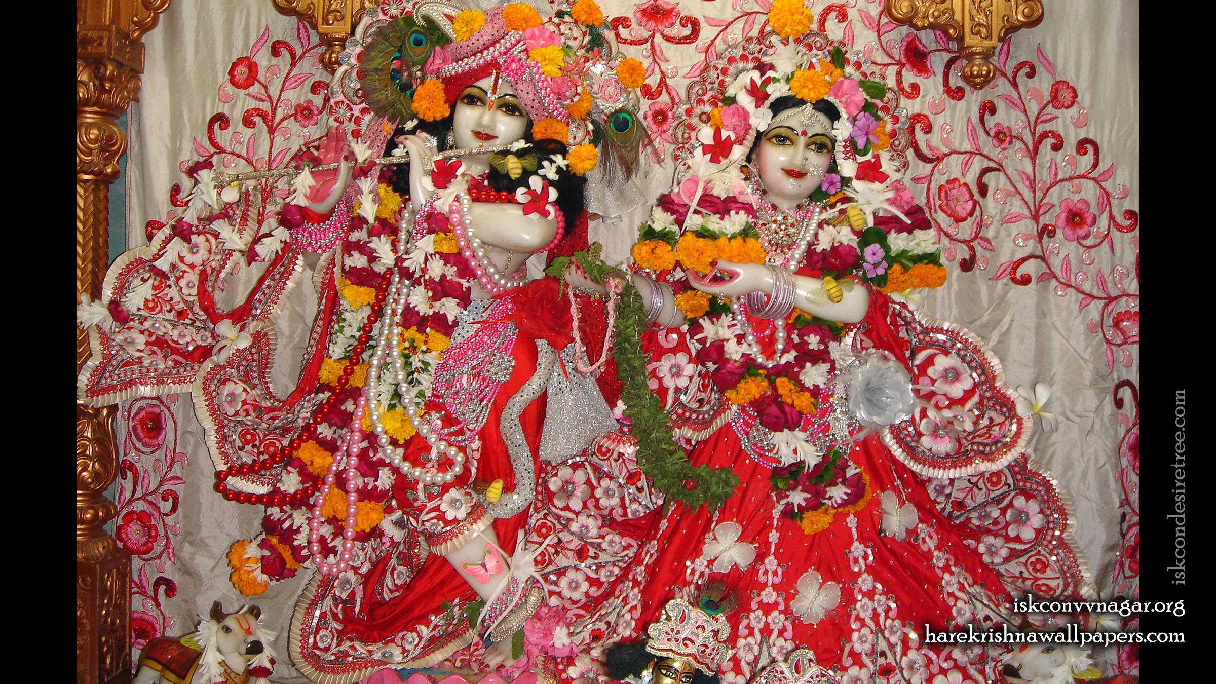 Sri Sri Radha Giridhari Wallpaper (018) Size 2400x1350 Download