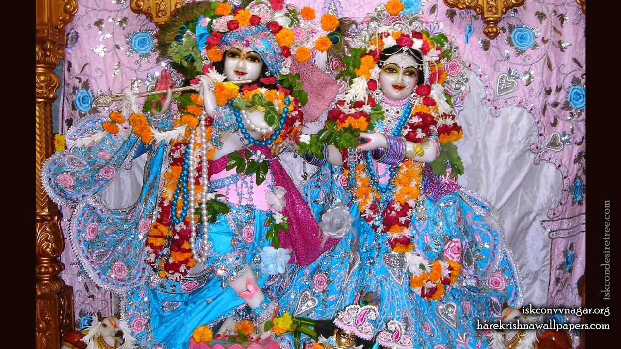 Sri Sri Radha Giridhari Wallpaper (019) Size 1280x720 Download