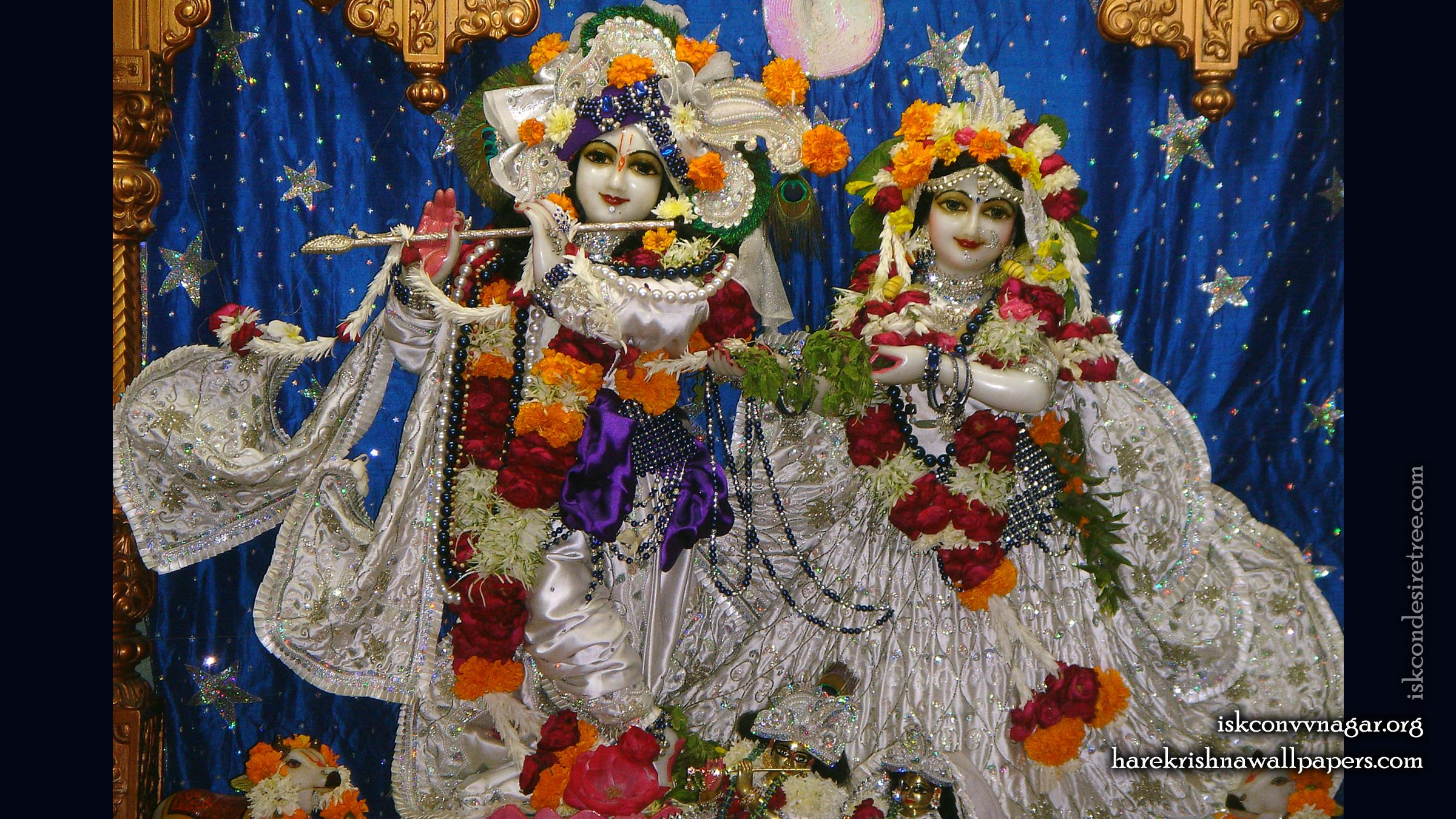 Sri Sri Radha Giridhari Wallpaper (020) Size 2400x1350 Download