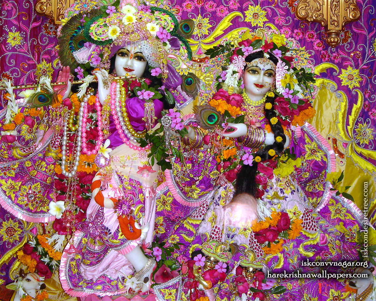 Sri Sri Radha Giridhari Wallpaper (021) Size 1280x1024 Download