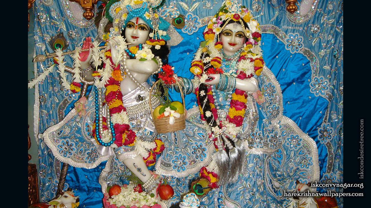 Sri Sri Radha Giridhari Wallpaper (022) Size 1280x720 Download