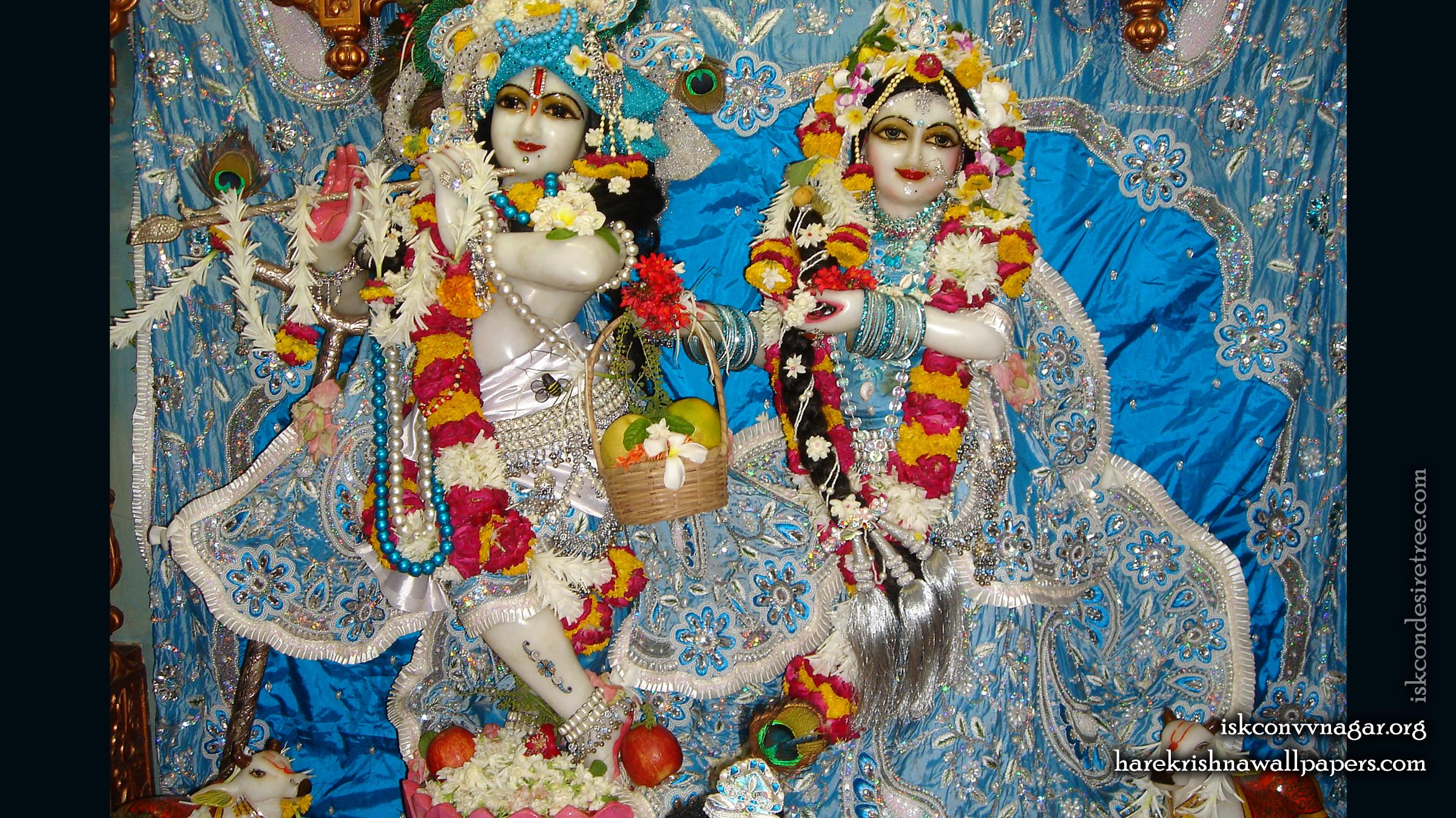 Sri Sri Radha Giridhari Wallpaper (022) Size 2400x1350 Download