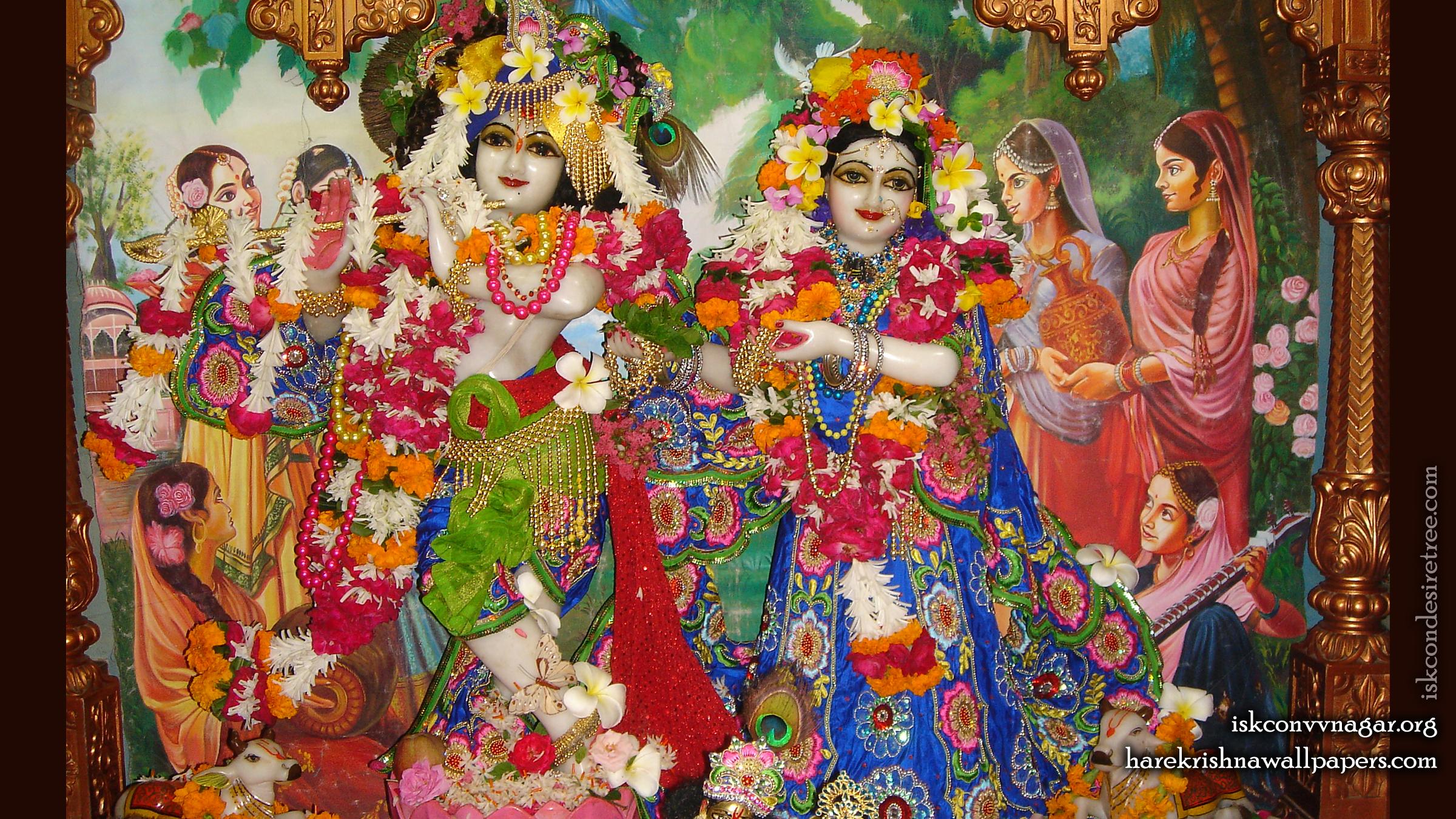 Sri Sri Radha Giridhari Wallpaper (026) Size 2400x1350 Download
