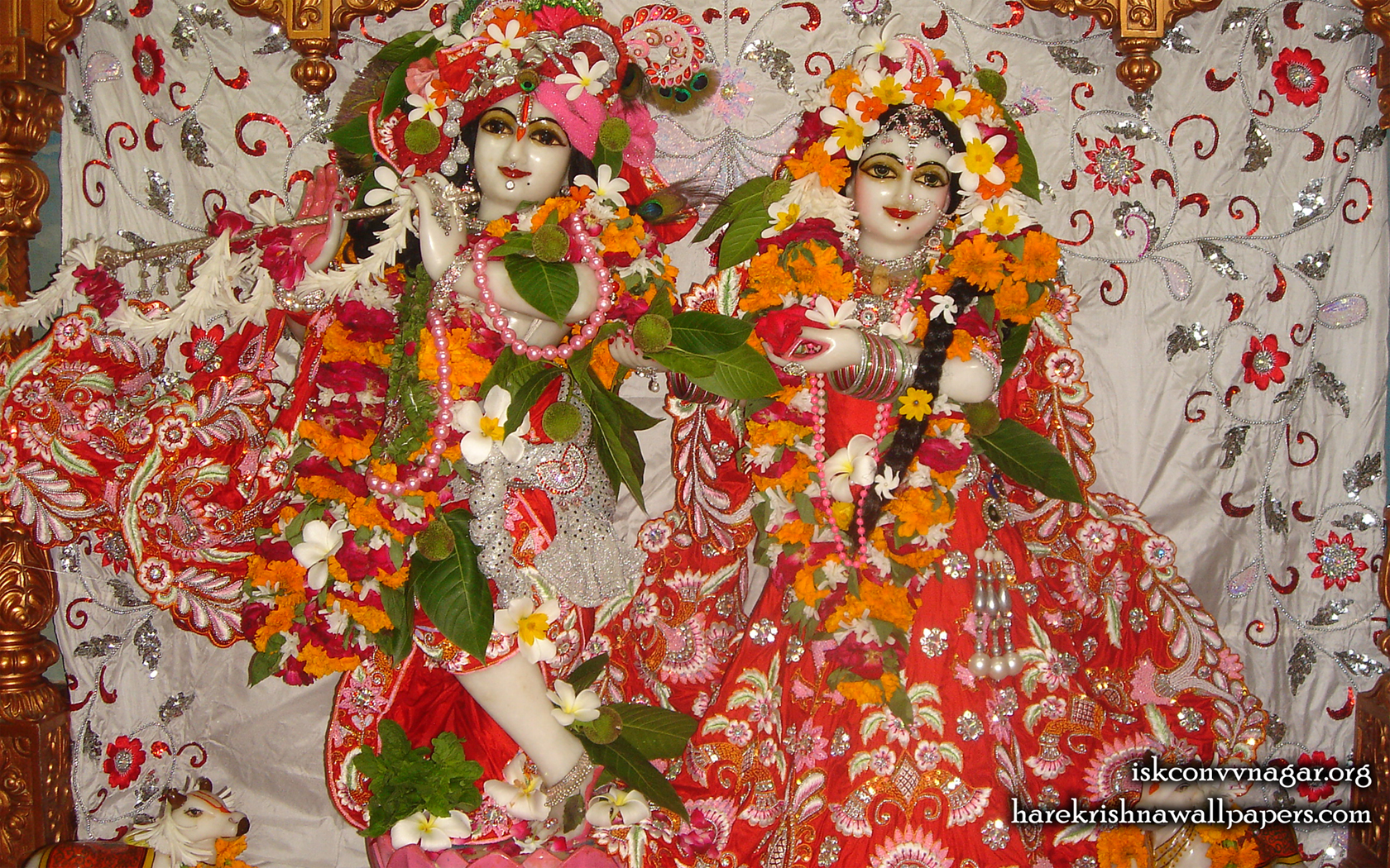 Sri Sri Radha Giridhari Wallpaper (031) Size 1680x1050 Download