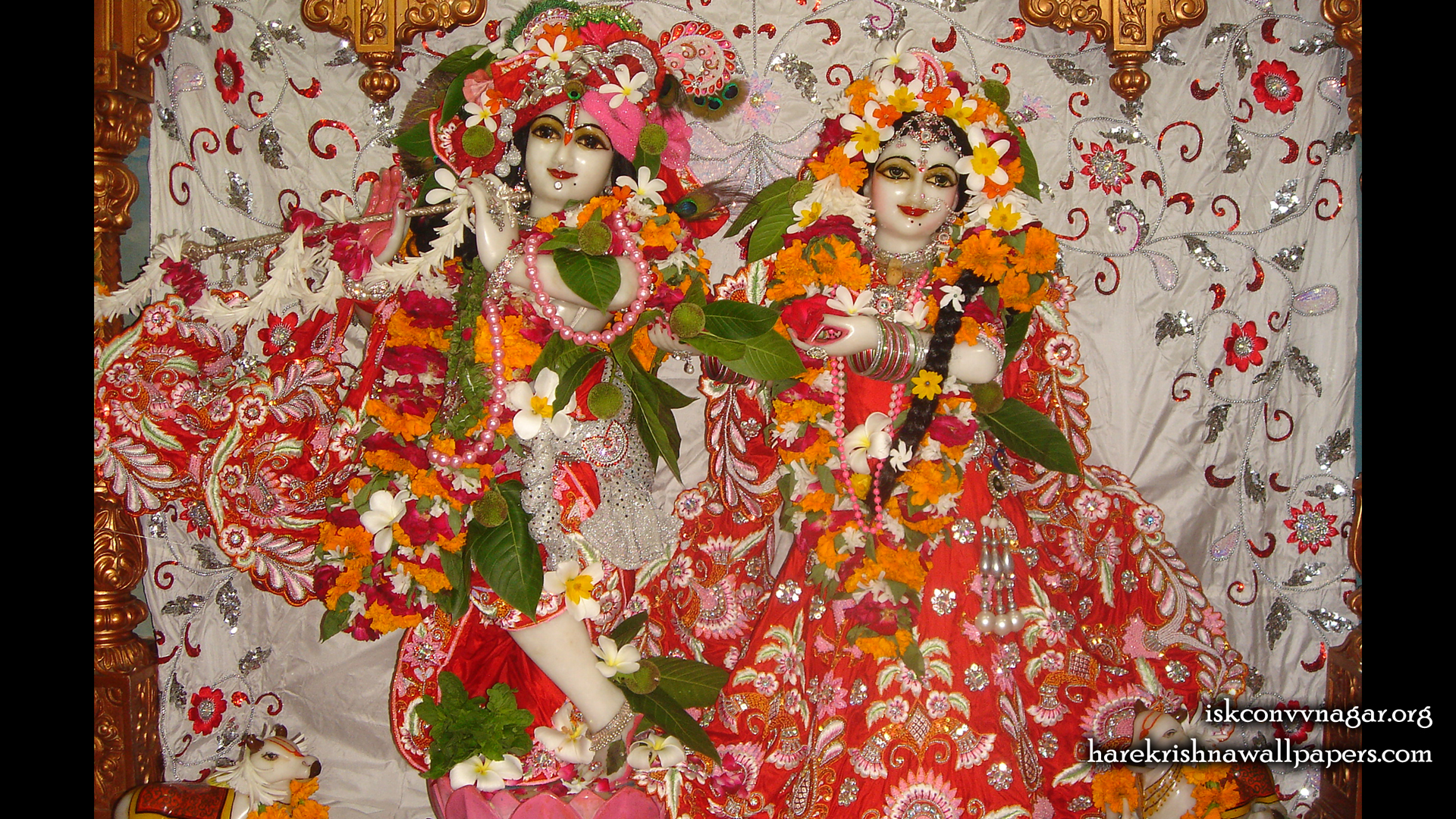 Sri Sri Radha Giridhari Wallpaper (031) Size 1920x1080 Download