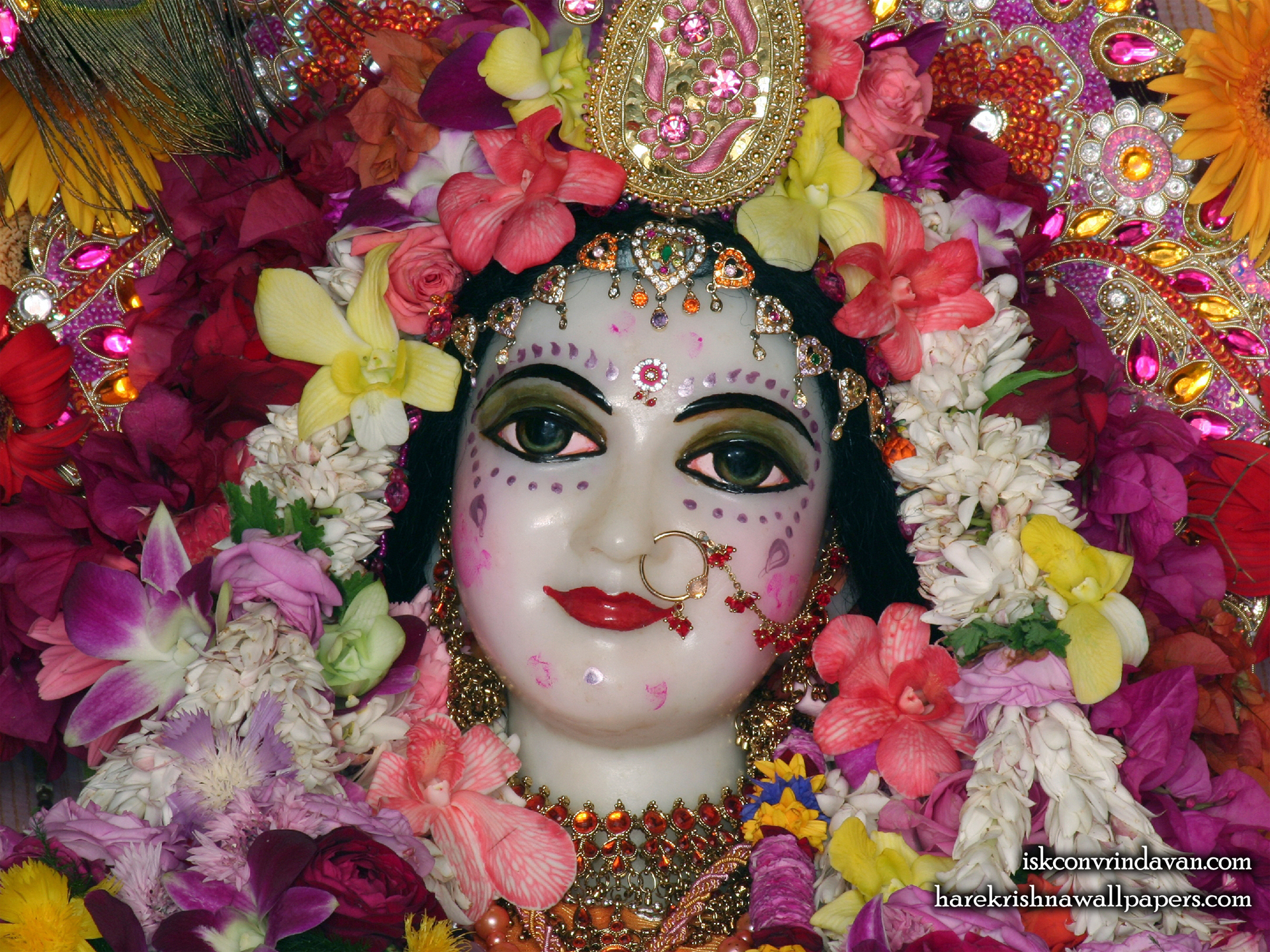 Sri Radha Close up Wallpaper (002) Size  1920x1440 Download