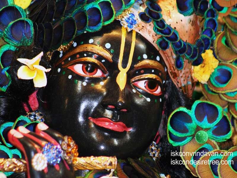 Sri Shyamsundar Close up Wallpaper (002)
