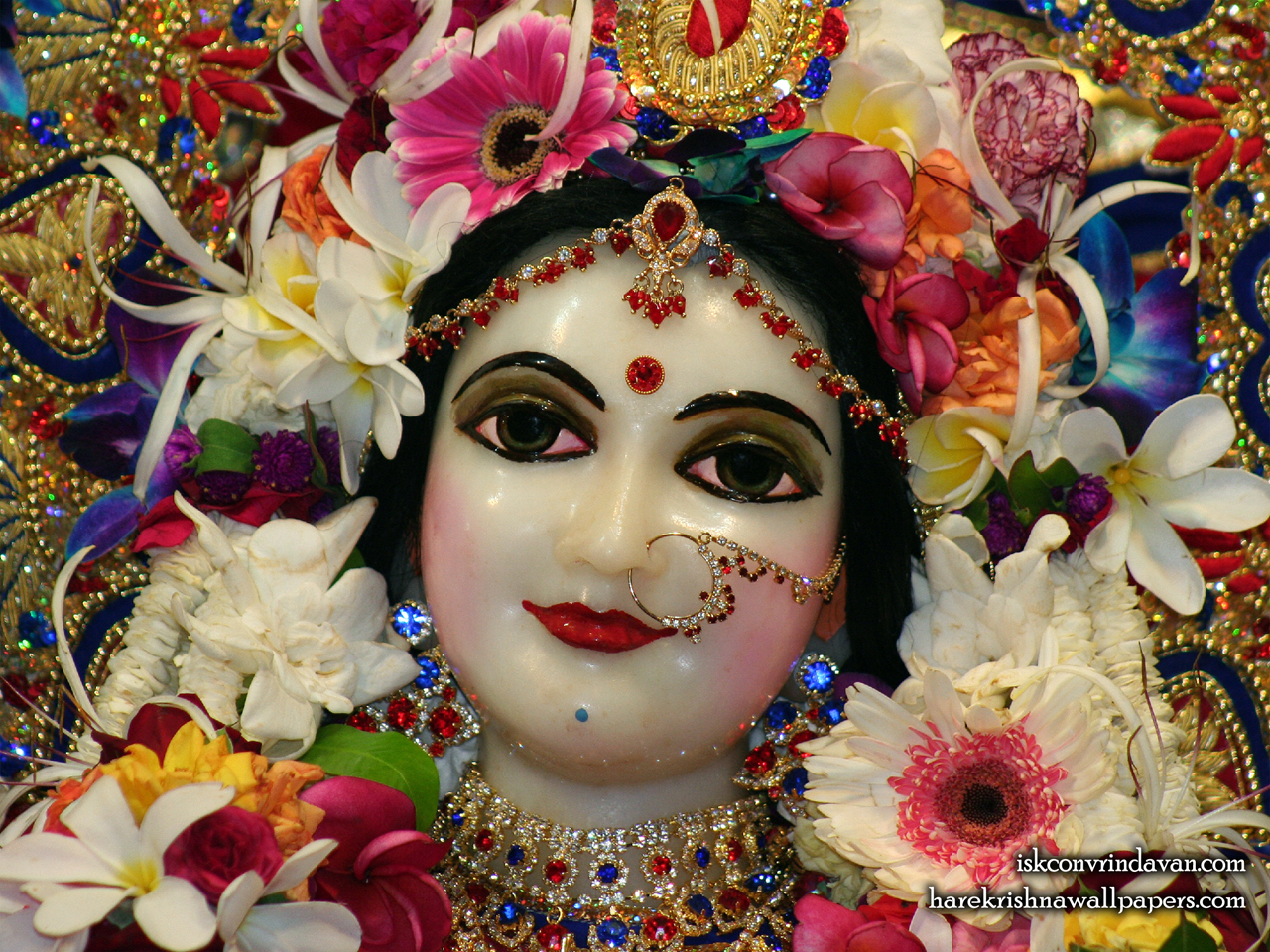 Sri Radha Close up Wallpaper (004) Size 1280x960 Download