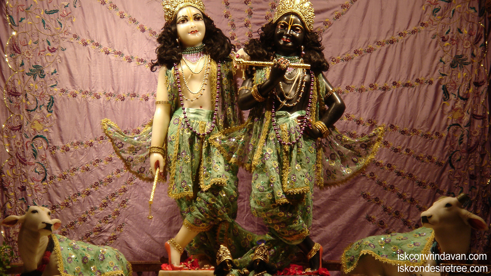 Sri Sri Krishna Balaram Wallpaper (096) Size 1600x900 Download