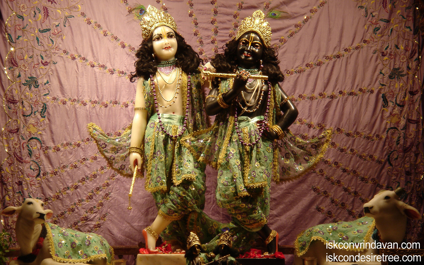 Sri Sri Krishna Balaram Wallpaper (096) Size 1680x1050 Download