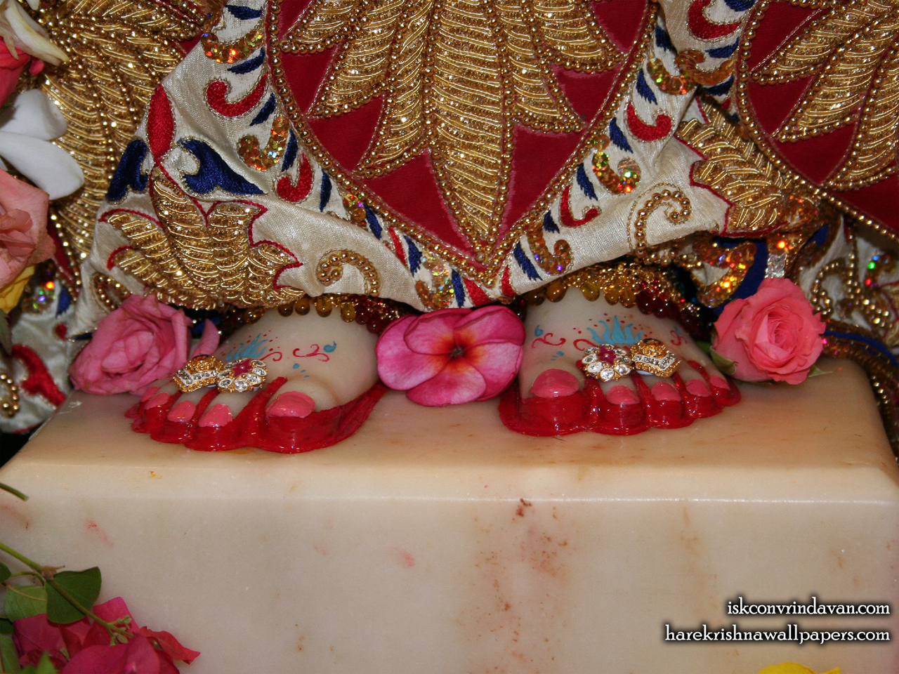 Sri Radha Feet Wallpaper (001) Size 1280x960 Download