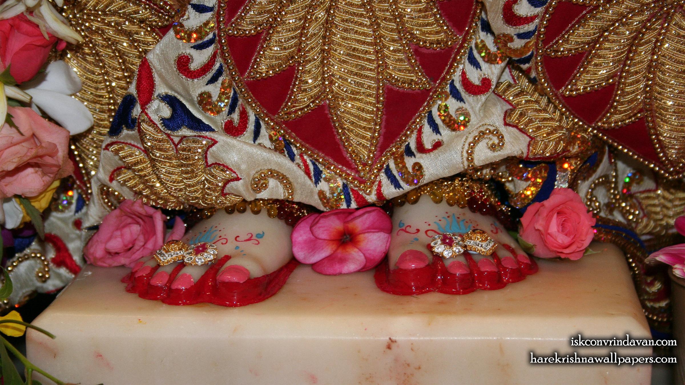 Sri Radha Feet Wallpaper (001) Size 2400x1350 Download