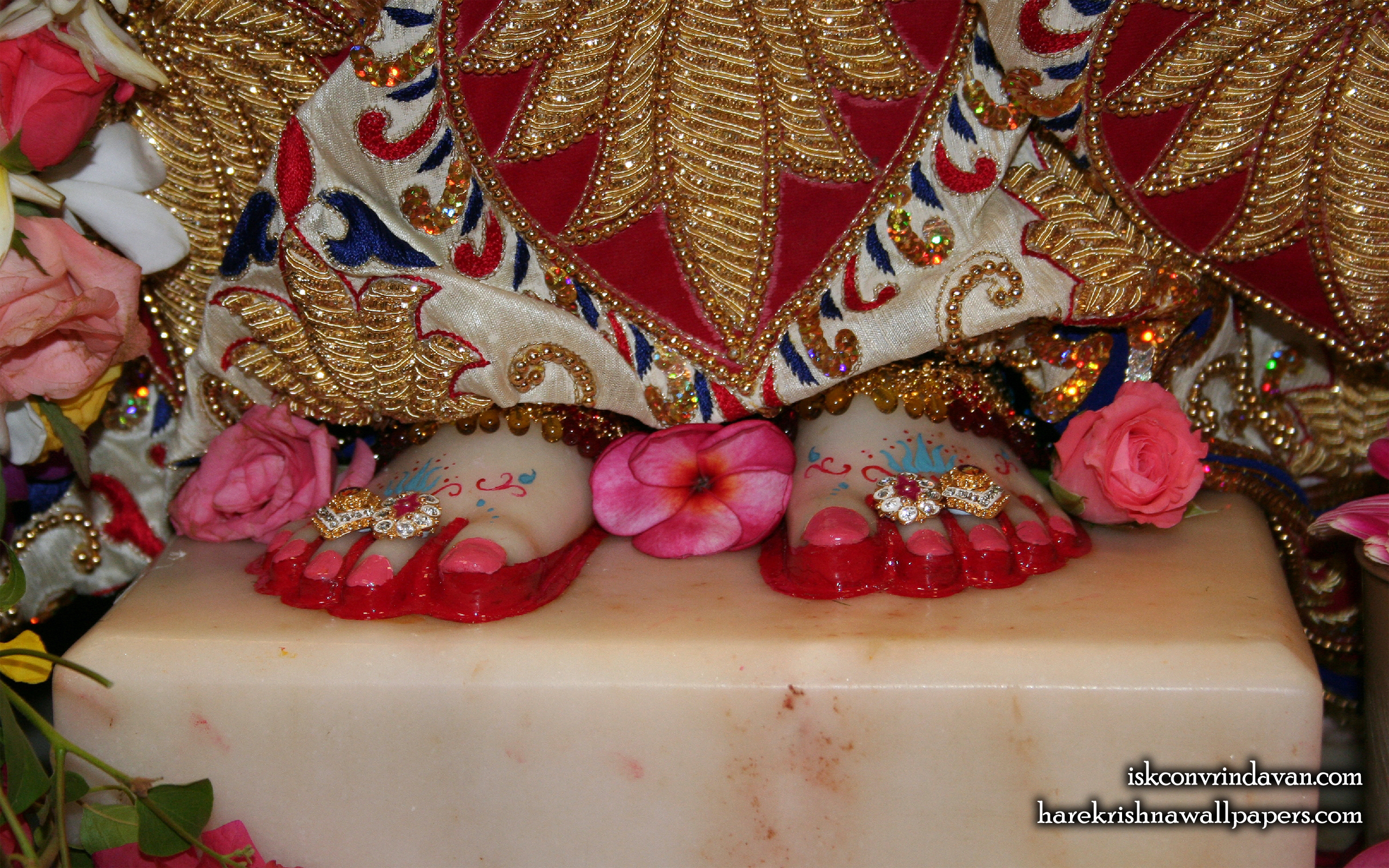 Sri Radha Feet Wallpaper (001) Size 2560x1600 Download