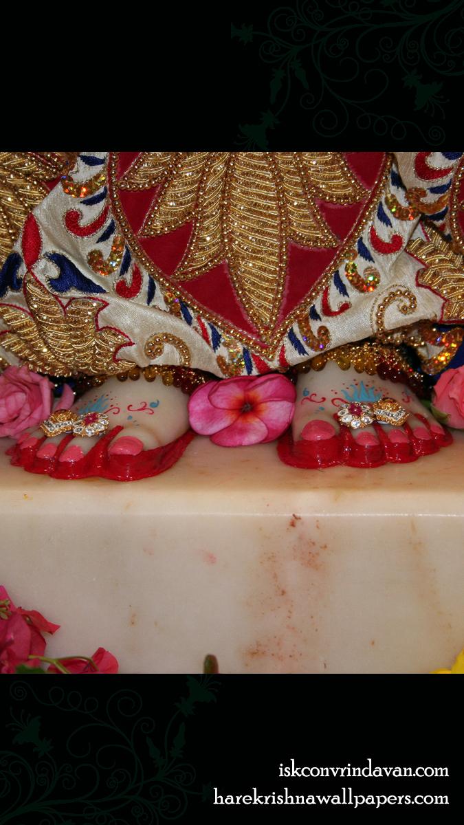 Sri Radha Feet Wallpaper (001) Size 675x1200 Download