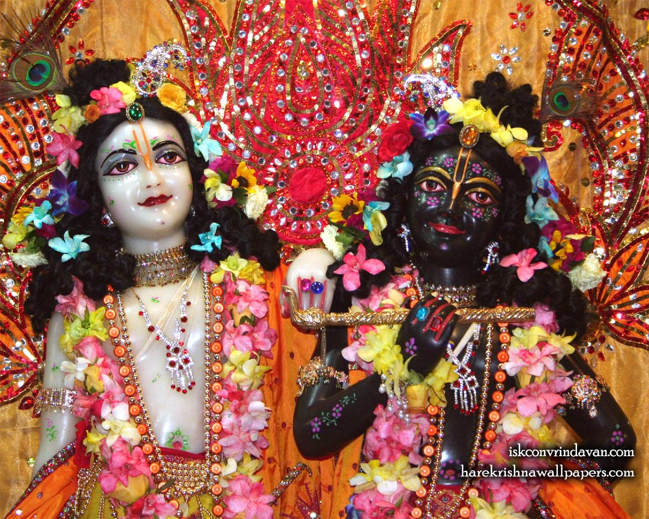 Sri Sri Krishna Balaram Close up Wallpaper (001) Size 1280x1024 Download