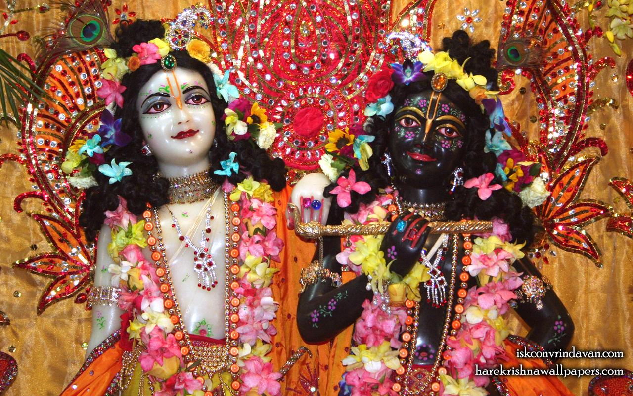 Sri Sri Krishna Balaram Close up Wallpaper (001) Size 1280x800 Download