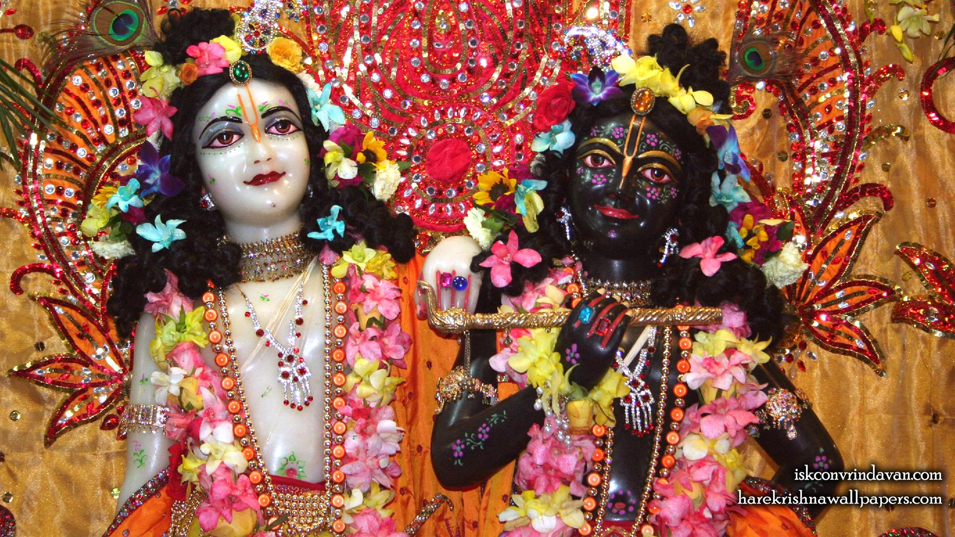 Sri Sri Krishna Balaram Close up Wallpaper (001) Size 1920x1080 Download