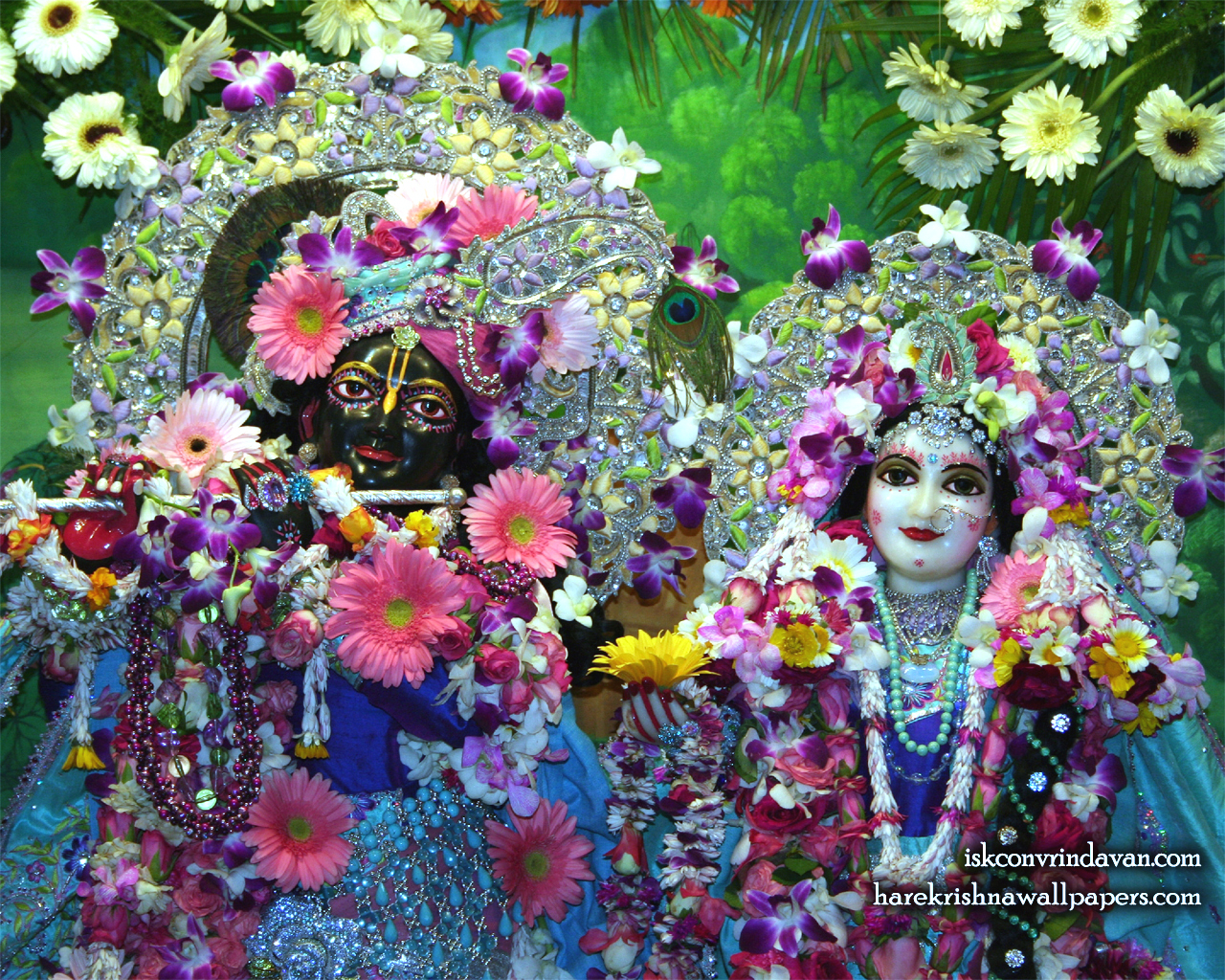 Sri Sri Radha Shyamsundar Close up Wallpaper (001) Size 1280x1024 Download