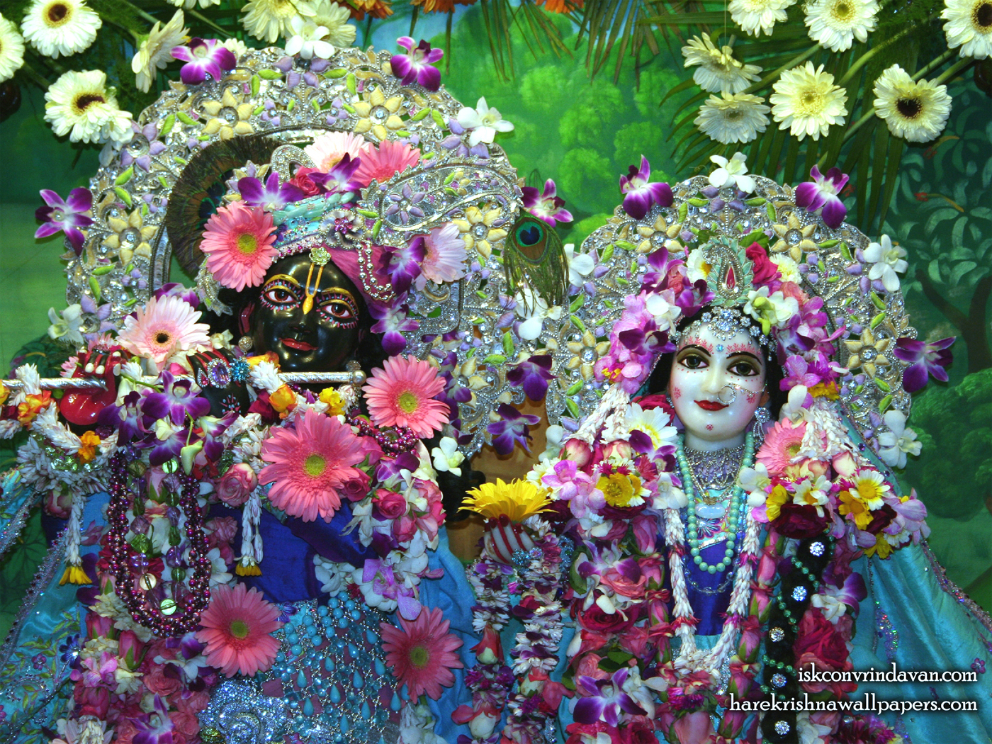 Sri Sri Radha Shyamsundar Close up Wallpaper (001) Size 1400x1050 Download