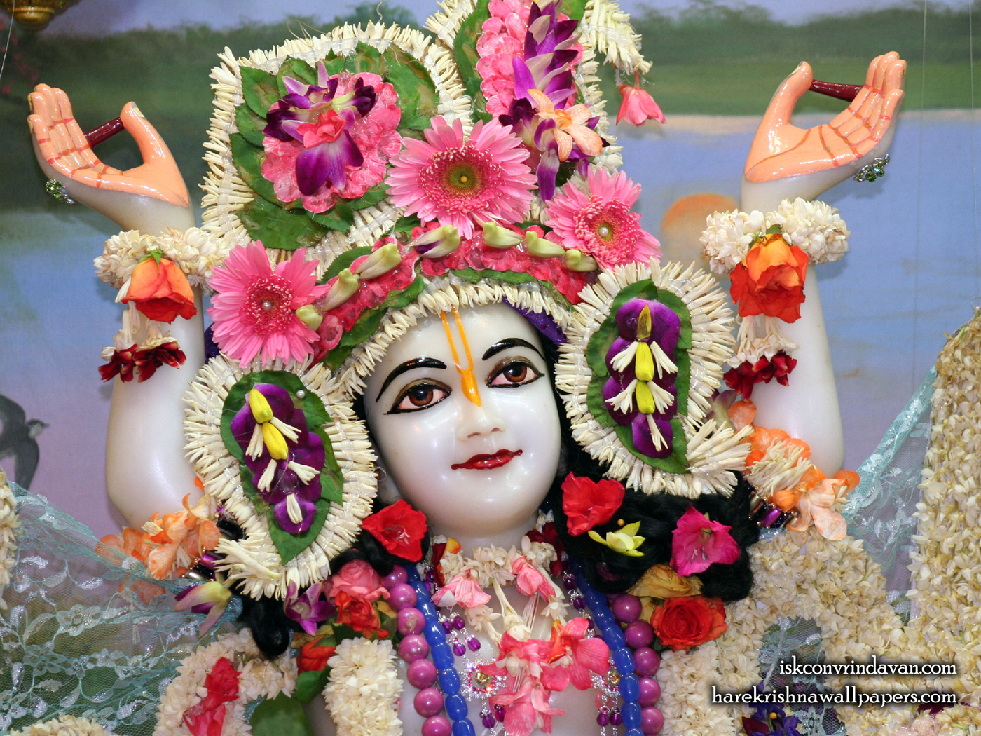 Sri Nitai Close up Wallpaper (002) Size 1400x1050 Download