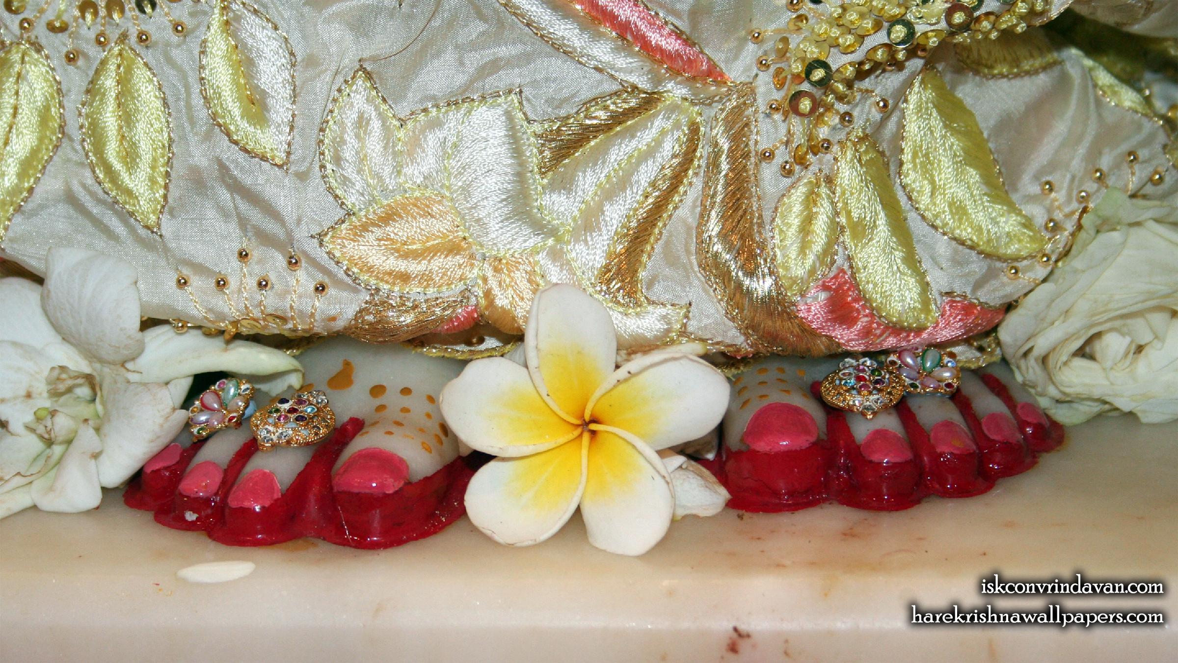 Sri Radha Feet Wallpaper (002) Size 2400x1350 Download