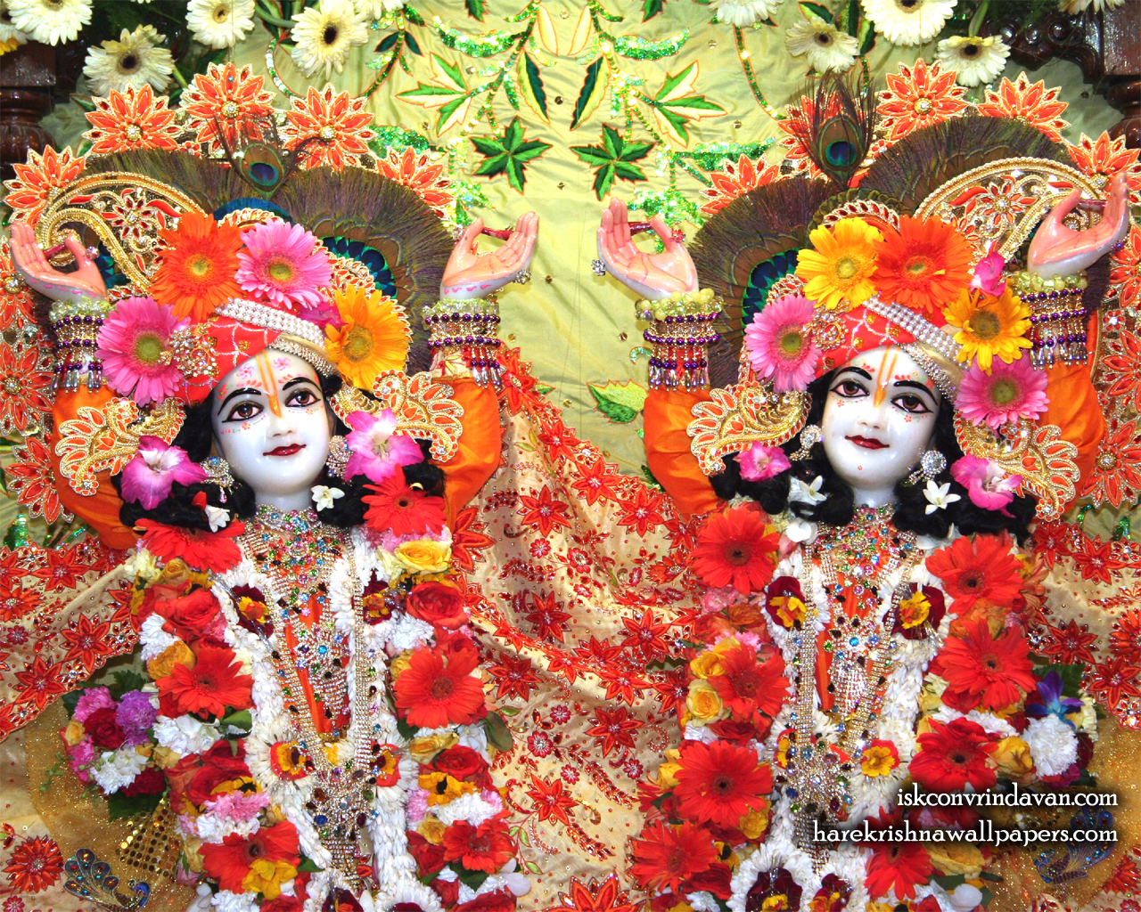 Sri Sri Gaura Nitai Close up Wallpaper (002) Size 1280x1024 Download