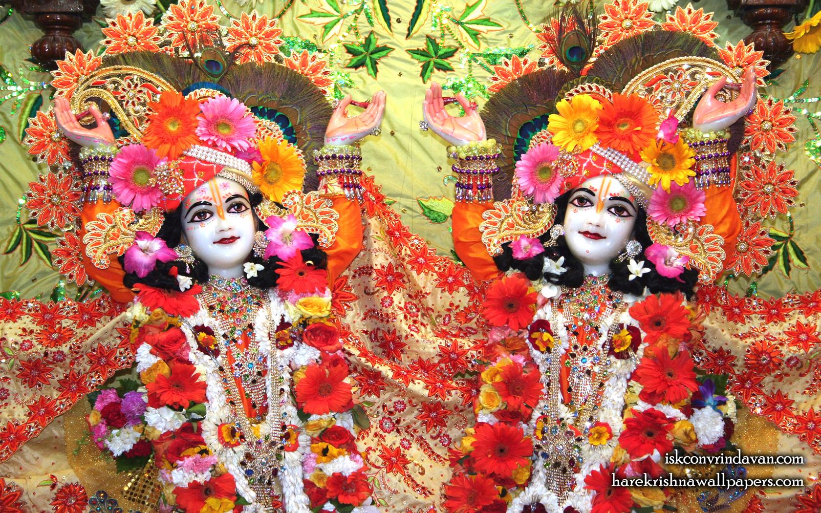 Sri Sri Gaura Nitai Close up Wallpaper (002) Size 1680x1050 Download