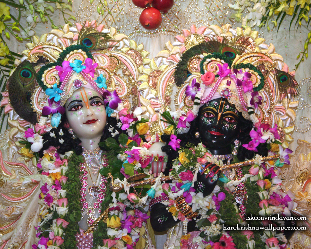 Sri Sri Krishna Balaram Close up Wallpaper (002) Size 1280x1024 Download