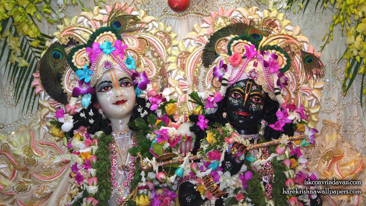 Sri Sri Krishna Balaram Close up Wallpaper (002) Size 1280x720 Download