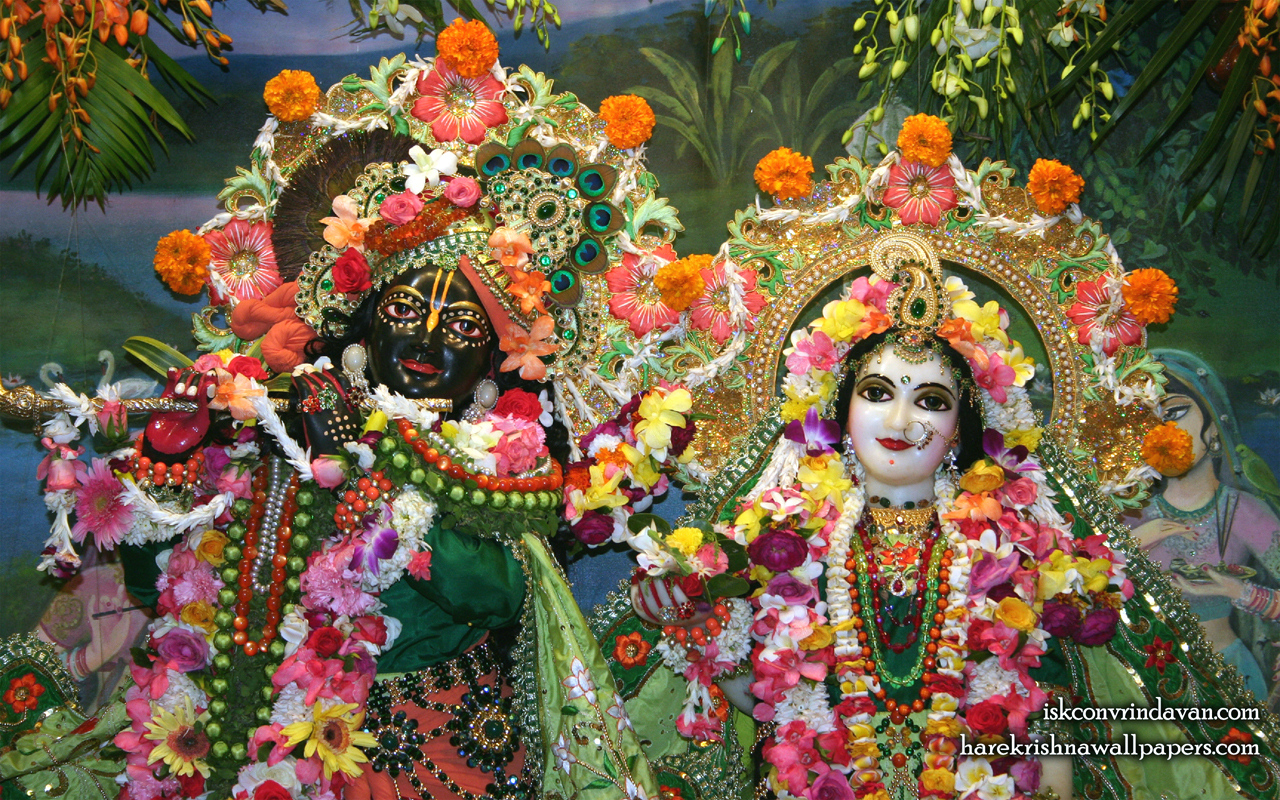 Sri Sri Radha Shyamsundar Close up Wallpaper (002) Size 1280x800 Download