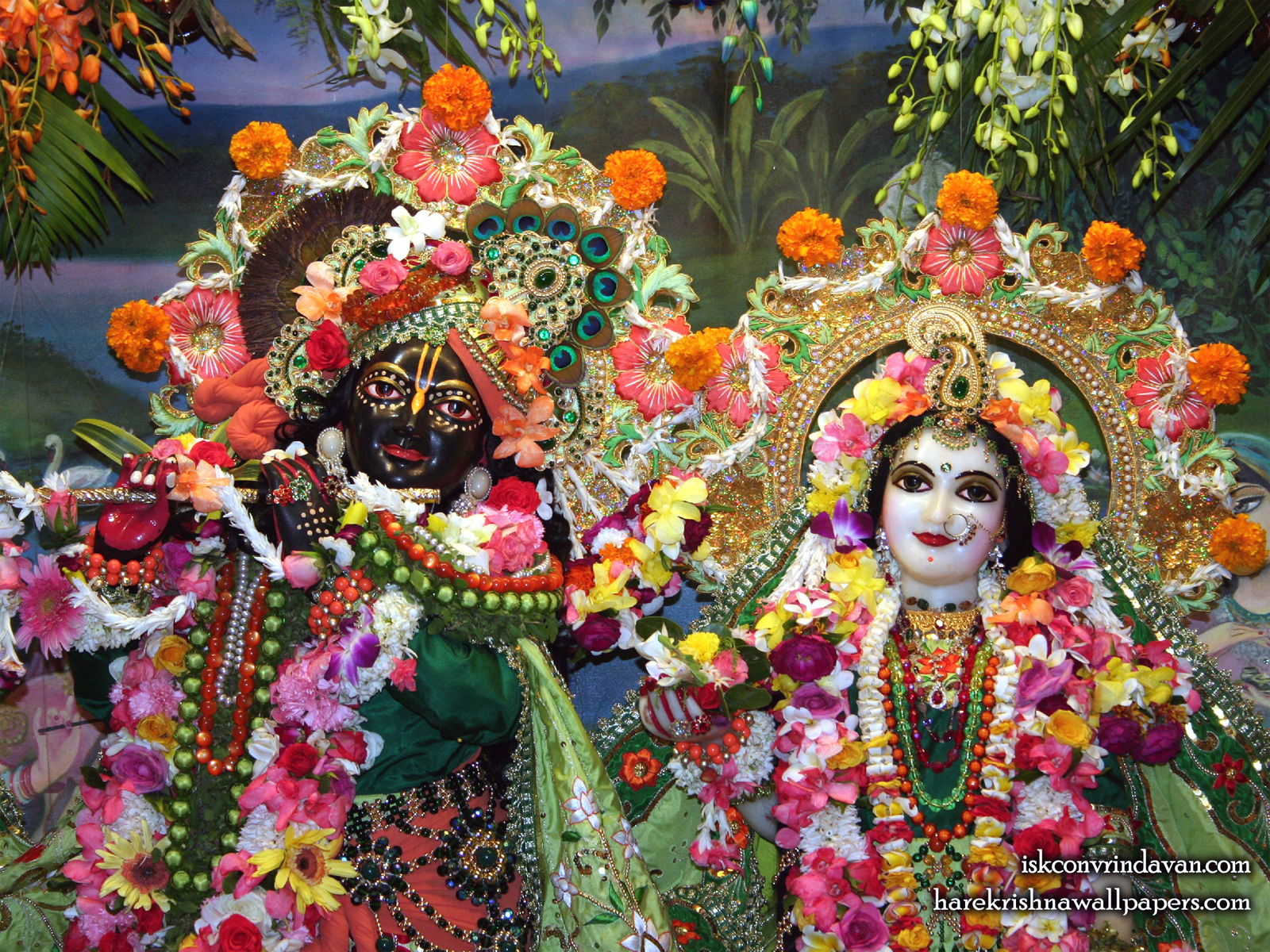 Sri Sri Radha Shyamsundar Close up Wallpaper (002) Size1600x1200 Download