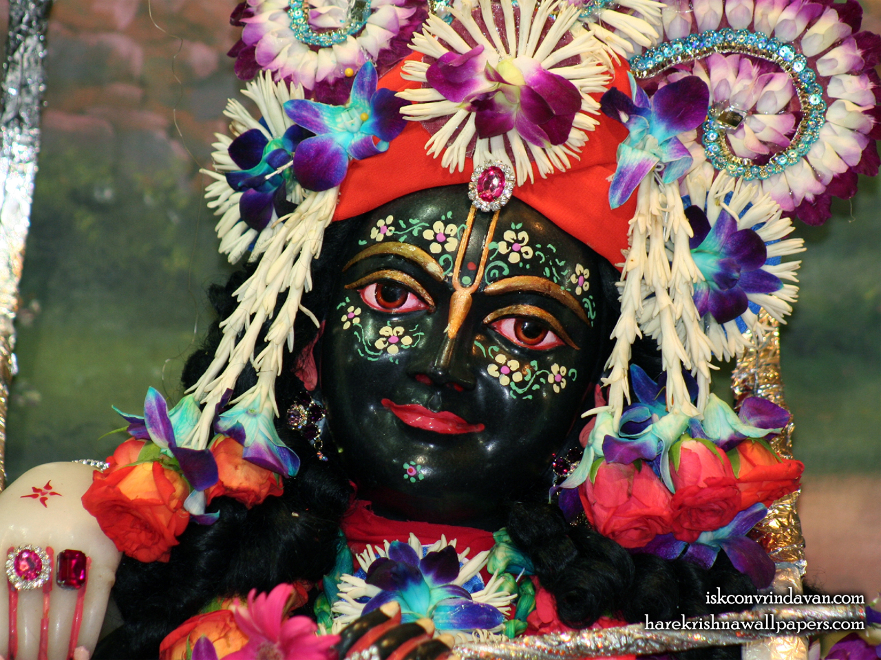 Sri Krishna Close up Wallpaper (003) Size 1280x960 Download