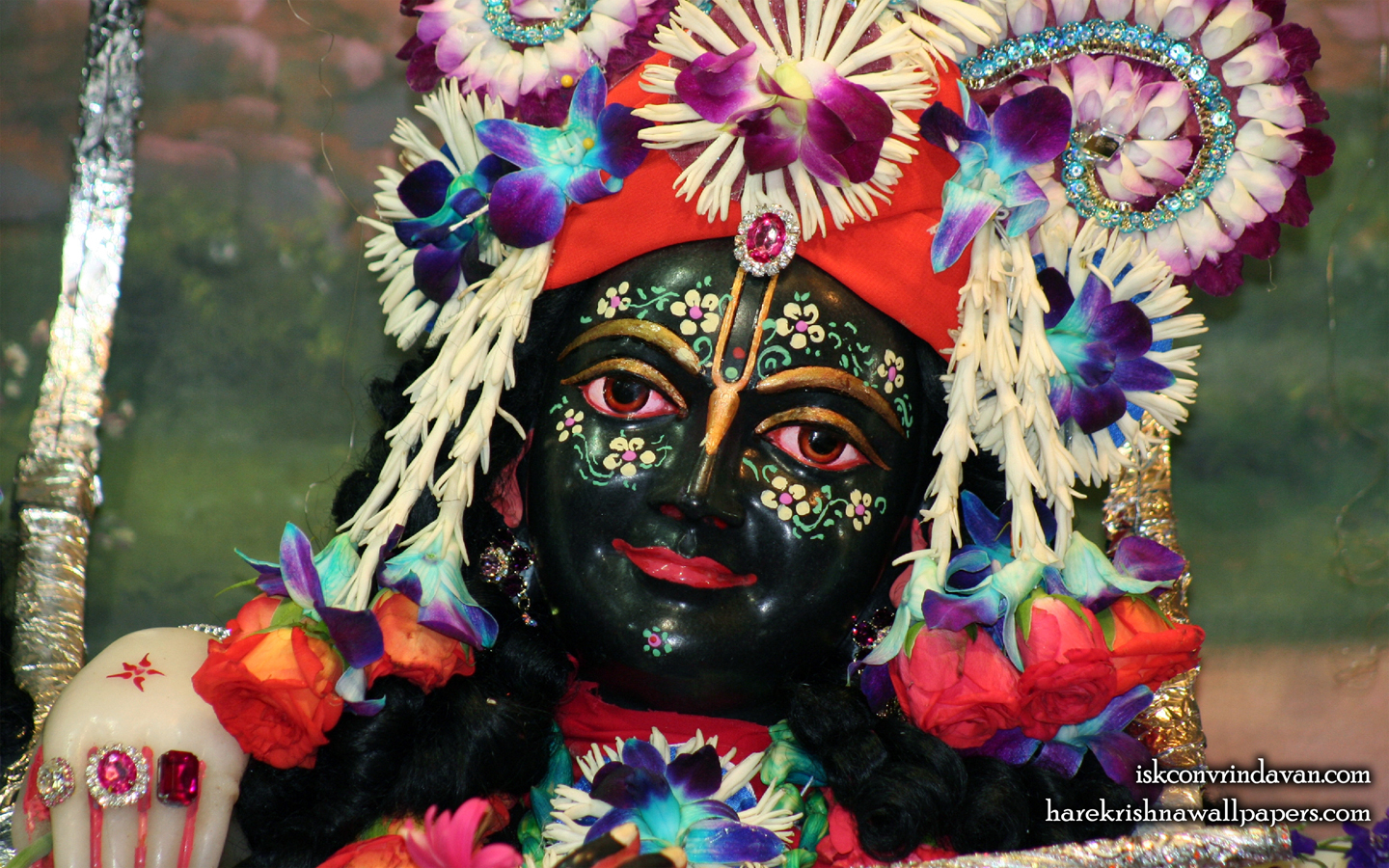 Sri Krishna Close up Wallpaper (003) Size 1440x900 Download