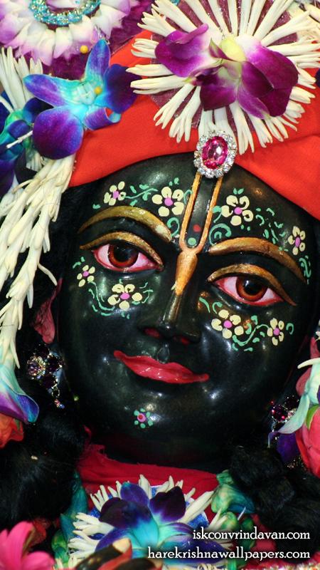 Sri Krishna Close up Wallpaper (003) Size 450x800 Download